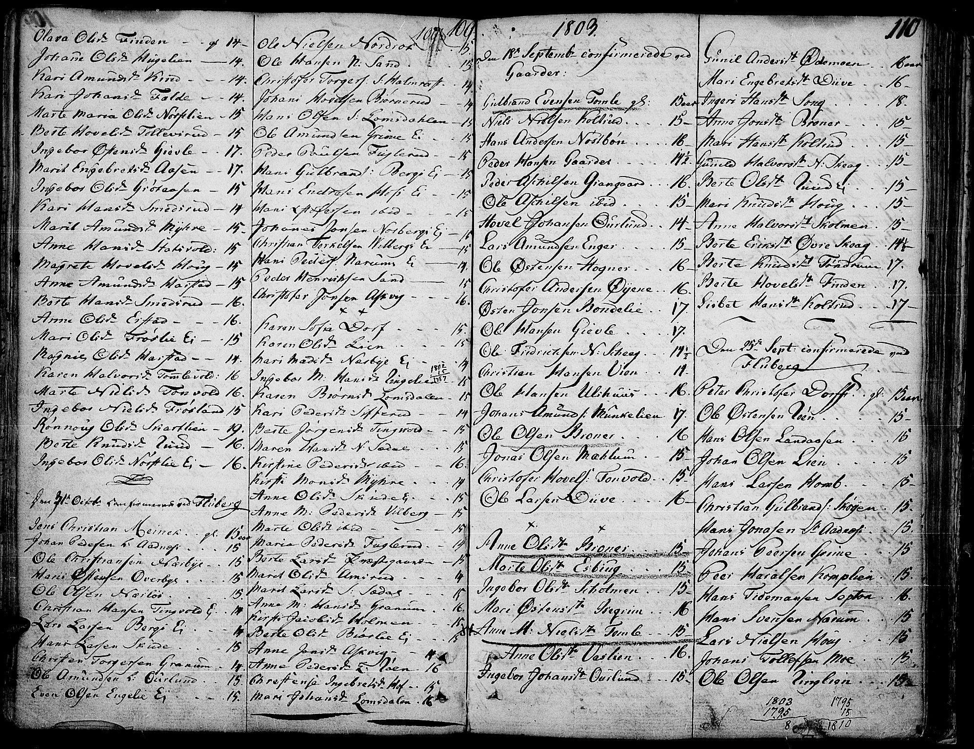 SAH, Land prestekontor, Ministerialbok nr. 6, 1784-1813, s. 110