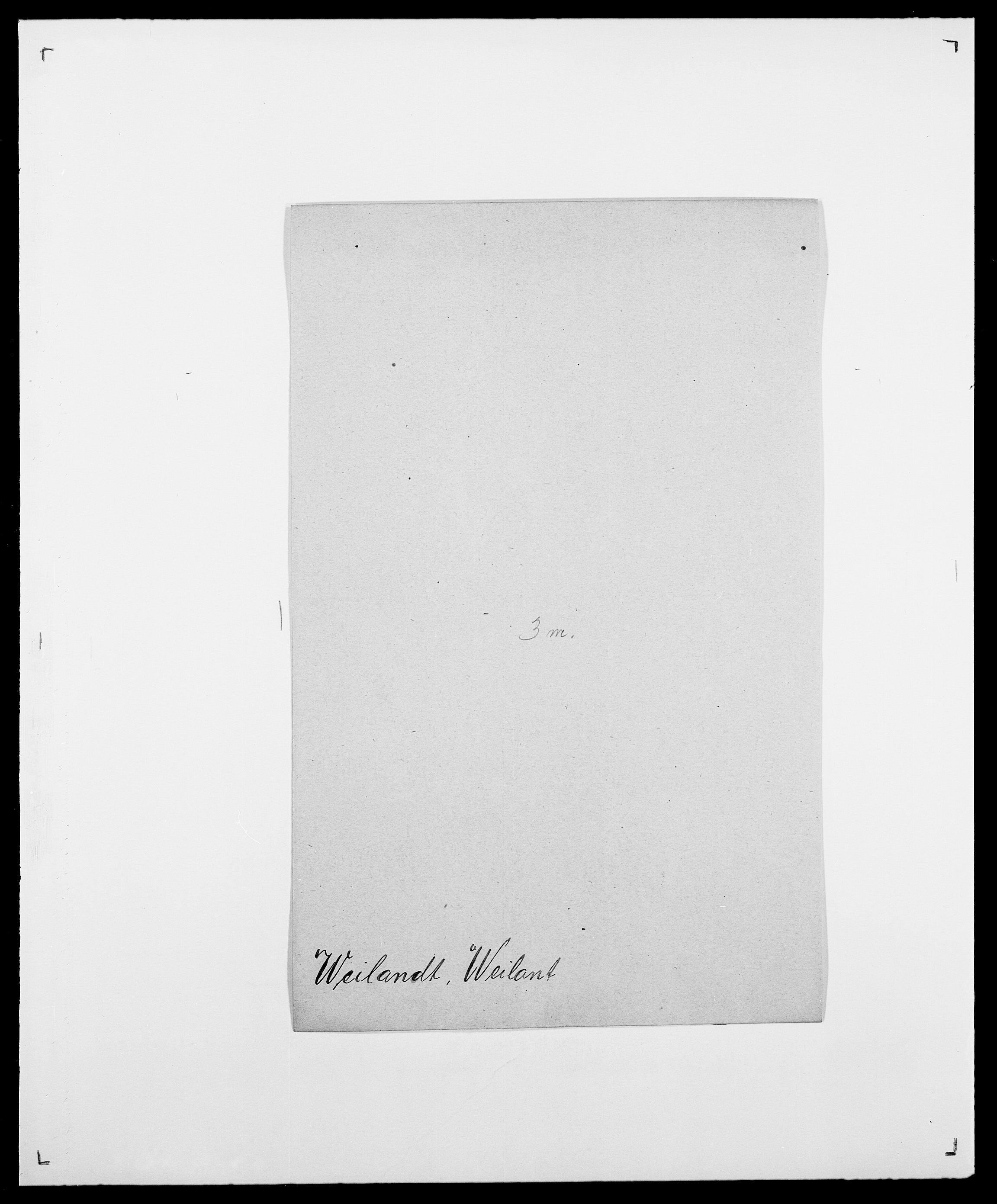 SAO, Delgobe, Charles Antoine - samling, D/Da/L0040: Usgaard - Velund, s. 575