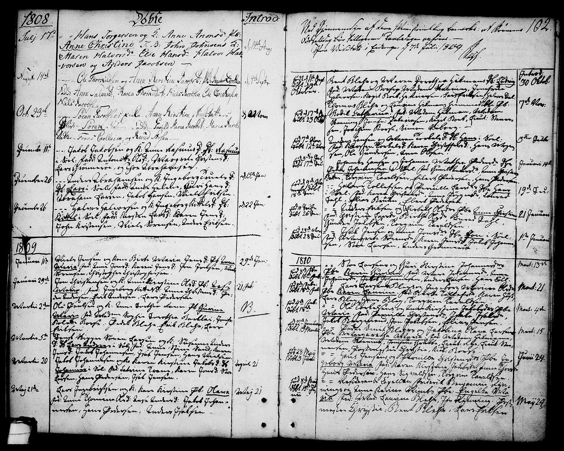 SAKO, Brevik kirkebøker, F/Fa/L0003: Ministerialbok nr. 3, 1764-1814, s. 102