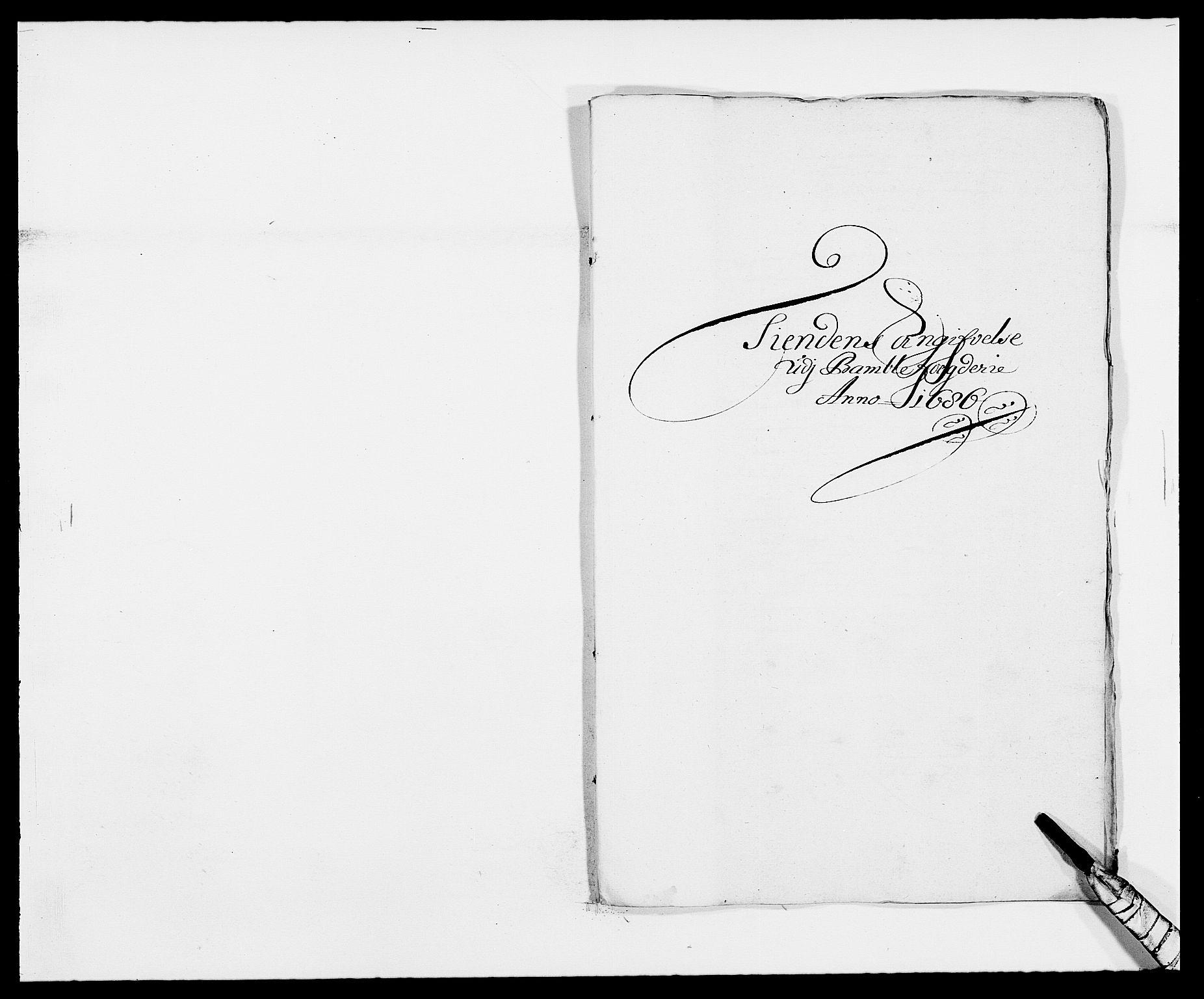 RA, Rentekammeret inntil 1814, Reviderte regnskaper, Fogderegnskap, R34/L2049: Fogderegnskap Bamble, 1685-1687, s. 25