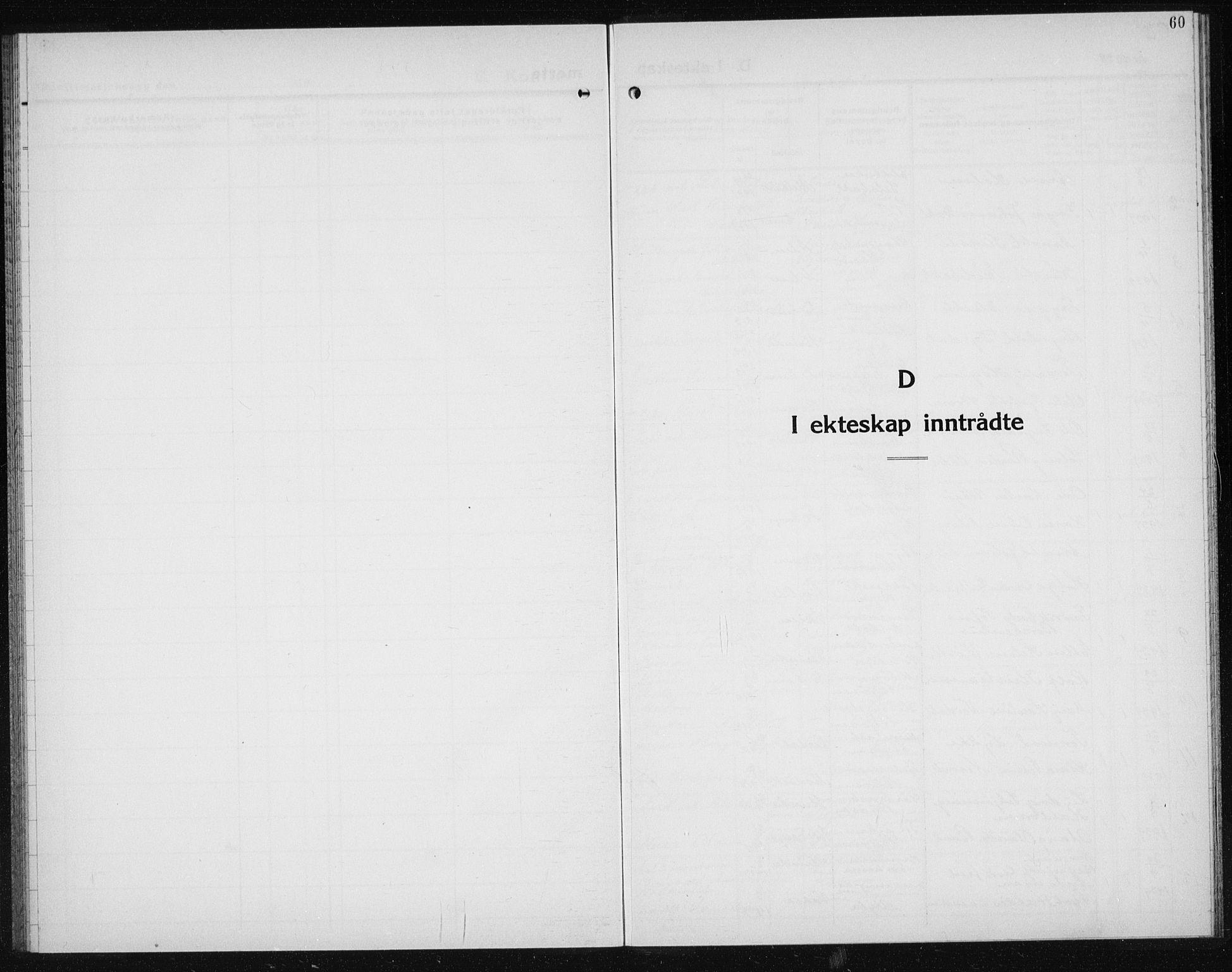 SAT, Ministerialprotokoller, klokkerbøker og fødselsregistre - Sør-Trøndelag, 611/L0357: Klokkerbok nr. 611C05, 1938-1942, s. 60