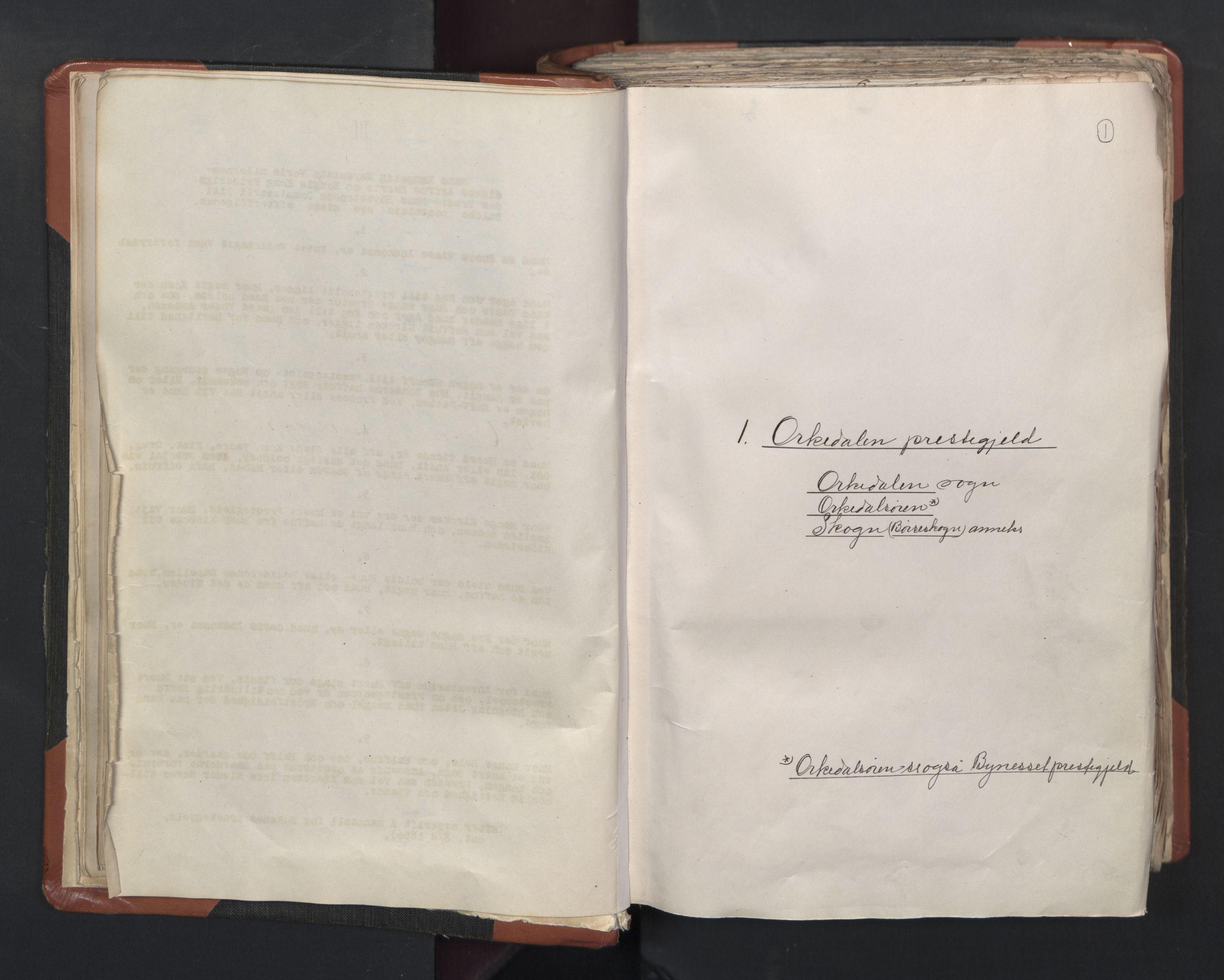 RA, Sogneprestenes manntall 1664-1666, nr. 31: Dalane prosti, 1664-1666, s. 1