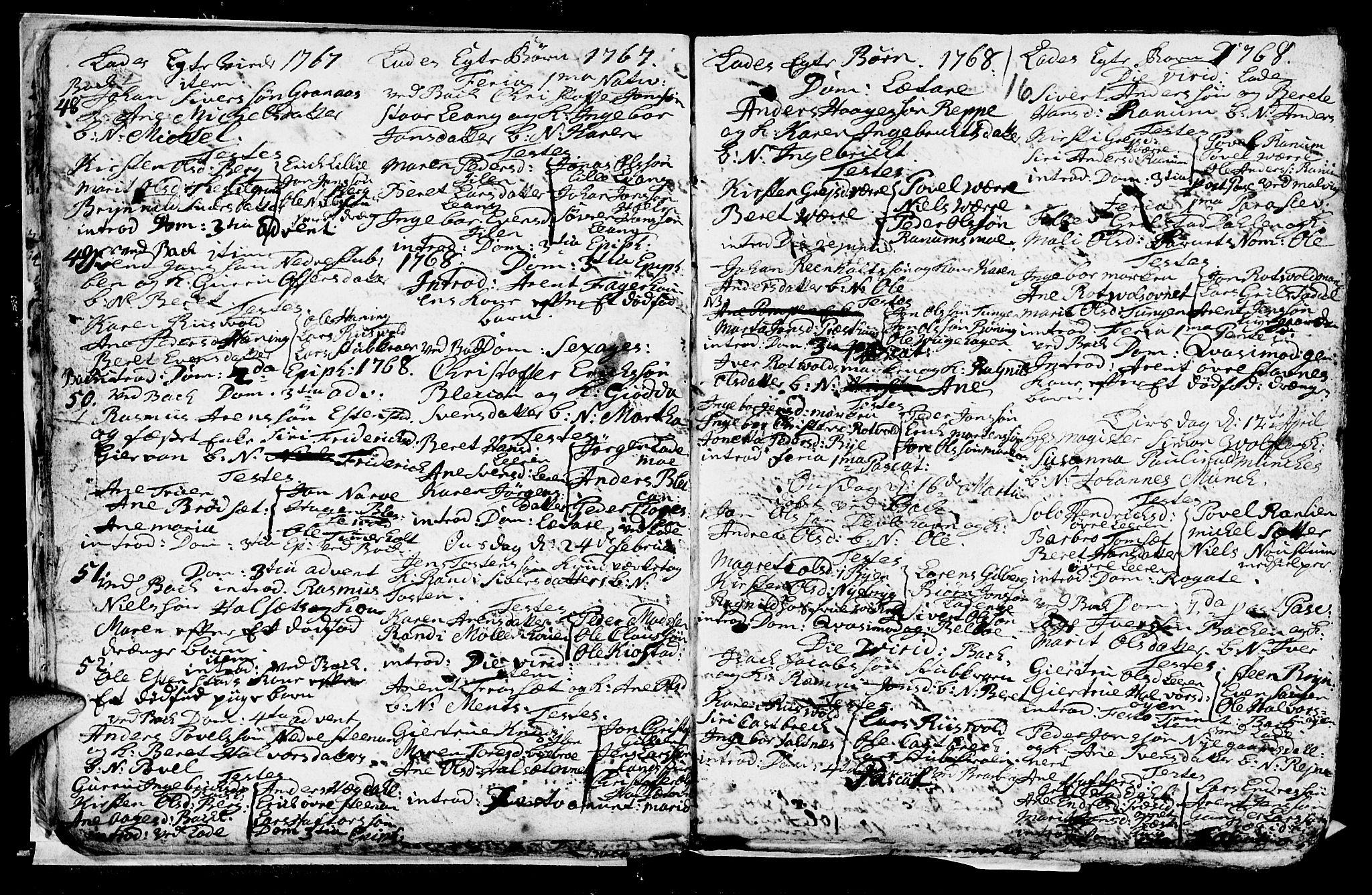 SAT, Ministerialprotokoller, klokkerbøker og fødselsregistre - Sør-Trøndelag, 606/L0305: Klokkerbok nr. 606C01, 1757-1819, s. 16