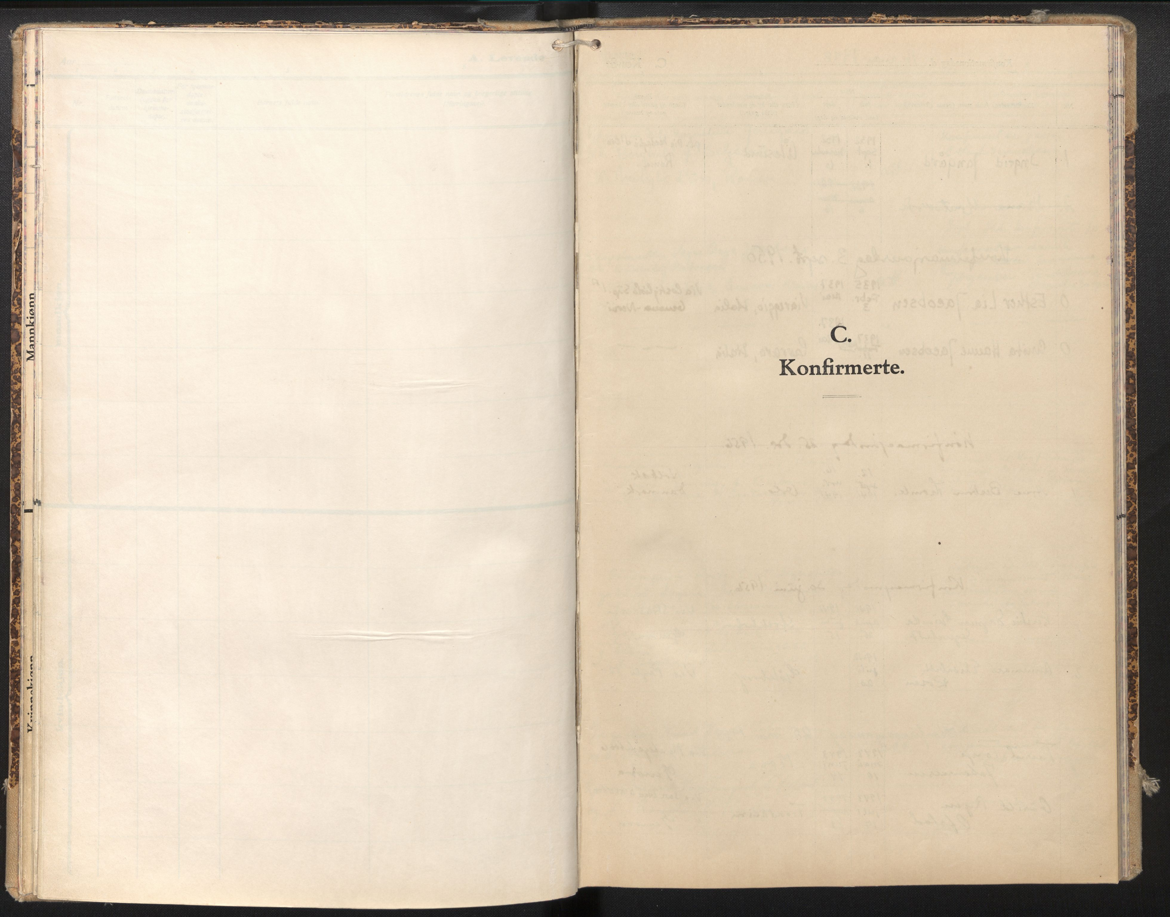 SAB, Privatarkiv 112 - Den norske sjømannsmisjon i utlandet/Genova, H/Ha/L0001: Ministerialbok nr. A 1, 1948-1980