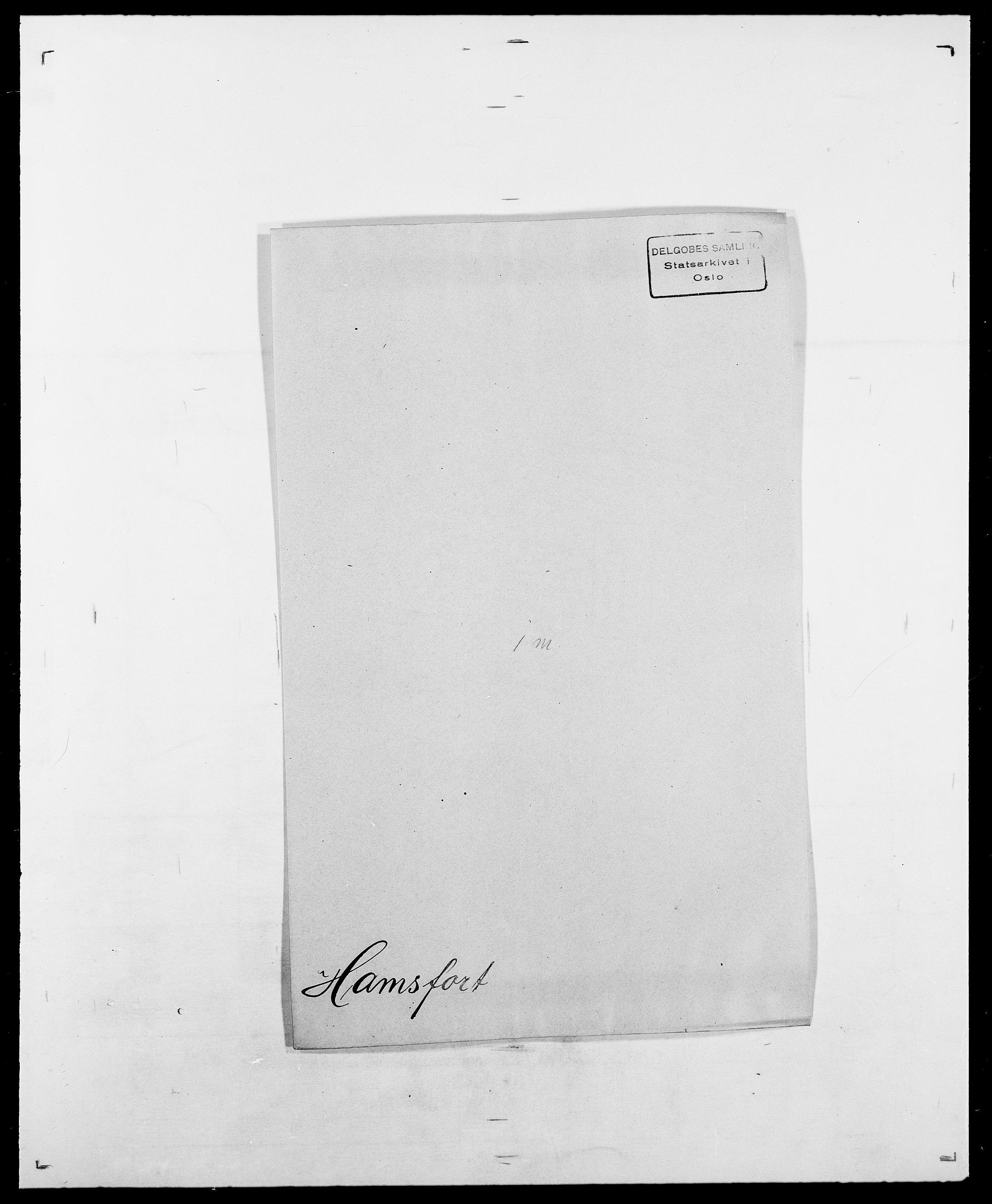 SAO, Delgobe, Charles Antoine - samling, D/Da/L0016: Hamborg - Hektoen, s. 92