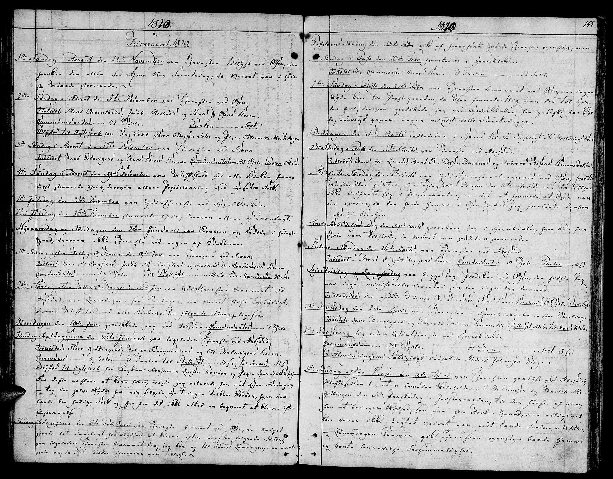 SAT, Ministerialprotokoller, klokkerbøker og fødselsregistre - Sør-Trøndelag, 657/L0701: Ministerialbok nr. 657A02, 1802-1831, s. 155