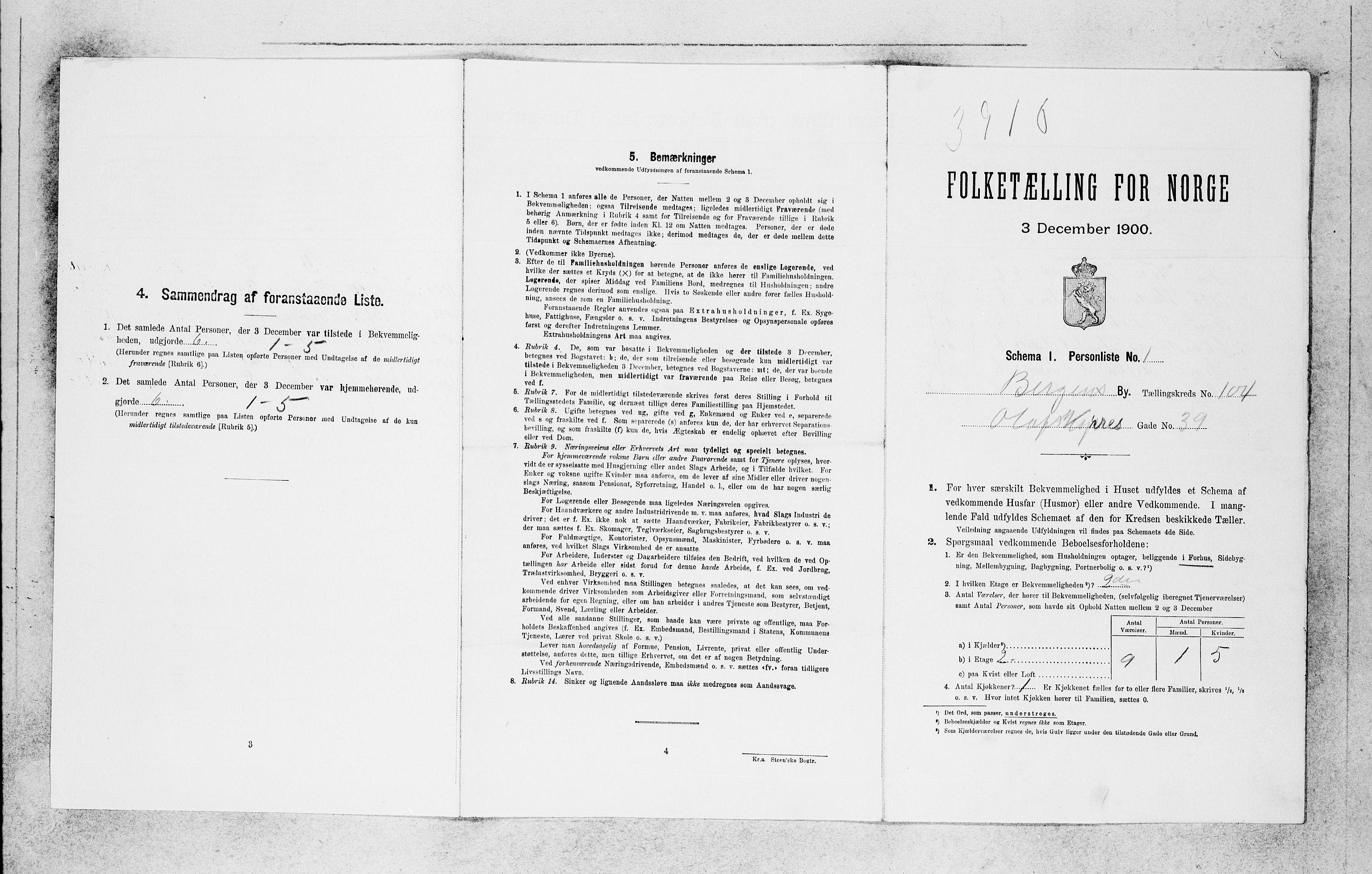 SAB, Folketelling 1900 for 1301 Bergen kjøpstad, 1900, s. 21802