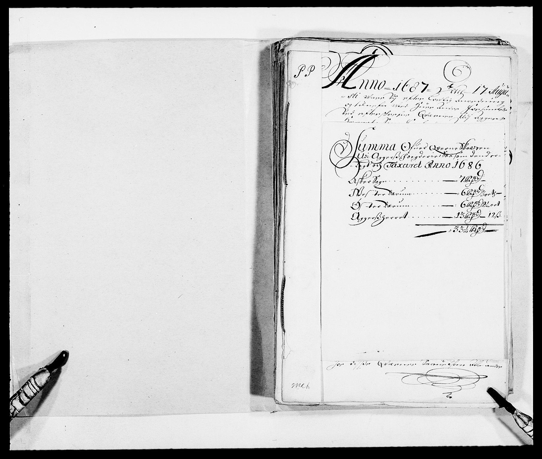 RA, Rentekammeret inntil 1814, Reviderte regnskaper, Fogderegnskap, R08/L0422: Fogderegnskap Aker, 1684-1686, s. 144