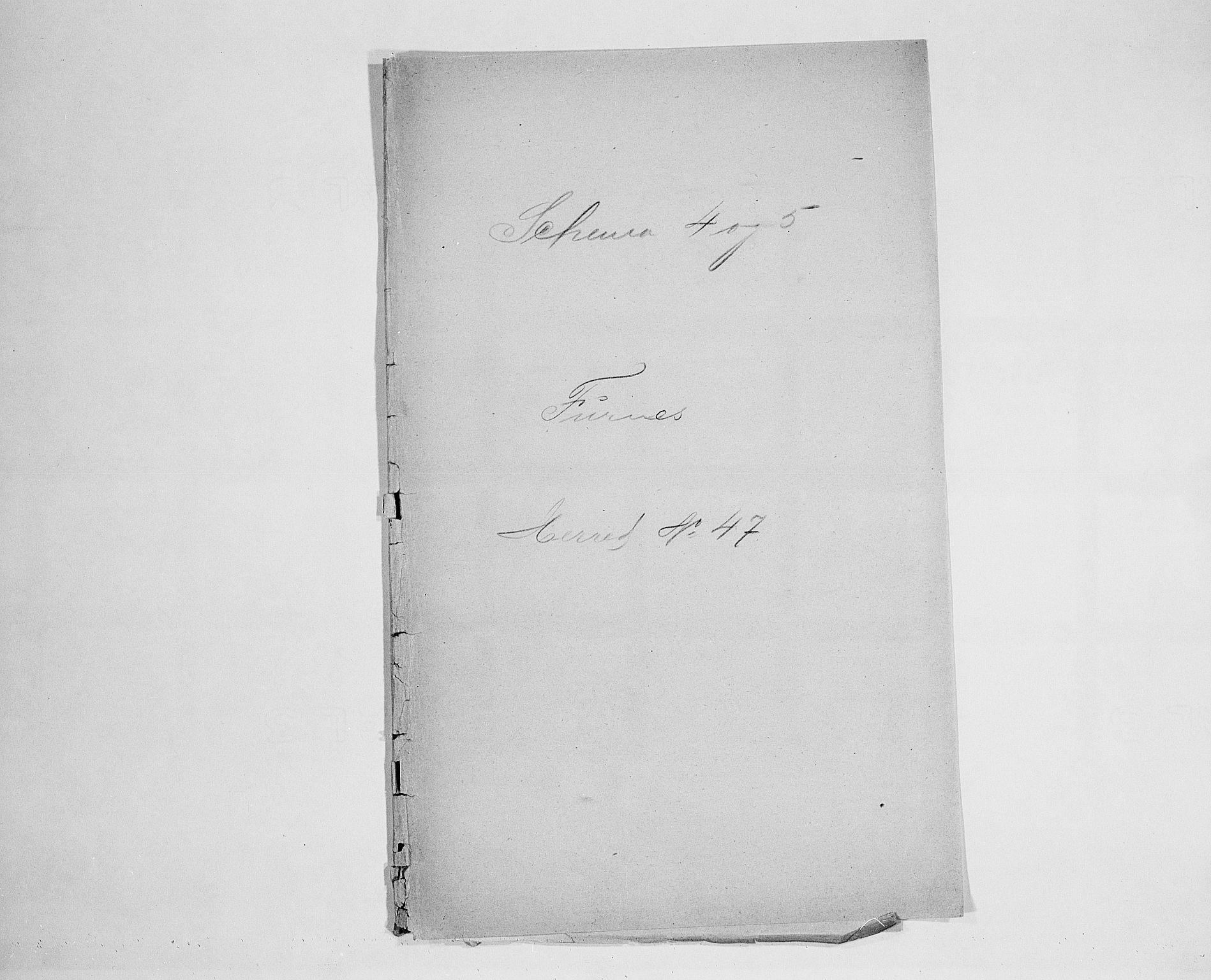 SAH, Folketelling 1900 for 0413 Furnes herred, 1900, s. 1