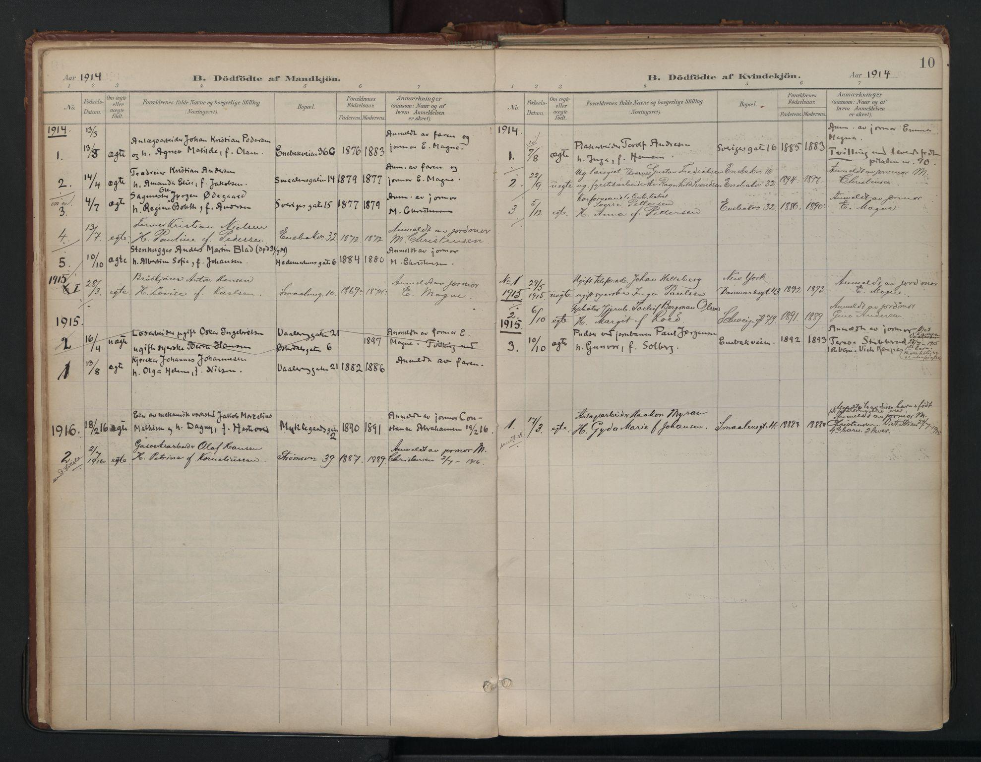 SAO, Vålerengen prestekontor Kirkebøker, F/Fa/L0003: Ministerialbok nr. 3, 1899-1930, s. 10