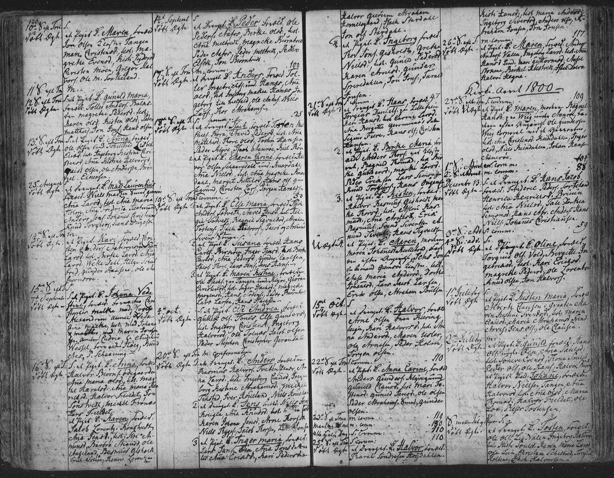 SAKO, Solum kirkebøker, F/Fa/L0003: Ministerialbok nr. I 3, 1761-1814, s. 136-137