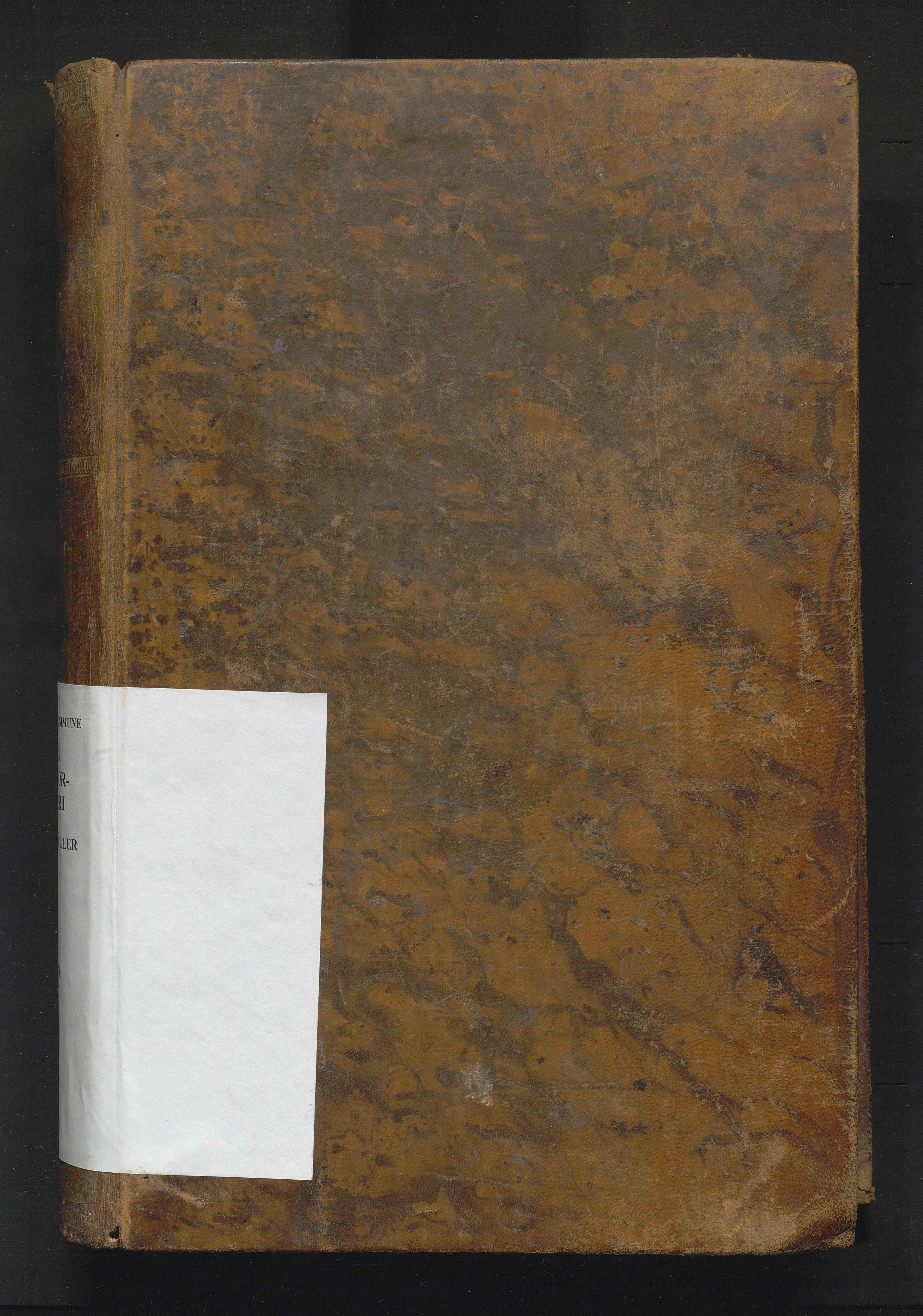 IKAH, Tysnes kommune. Overformynderiet, F/Fab/L0001: Stor overformyndarrulle, 1859-1878