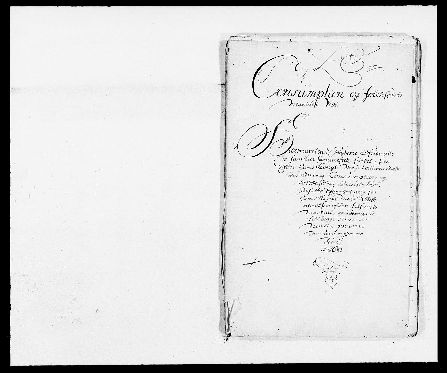 RA, Rentekammeret inntil 1814, Reviderte regnskaper, Fogderegnskap, R16/L1021: Fogderegnskap Hedmark, 1681, s. 176