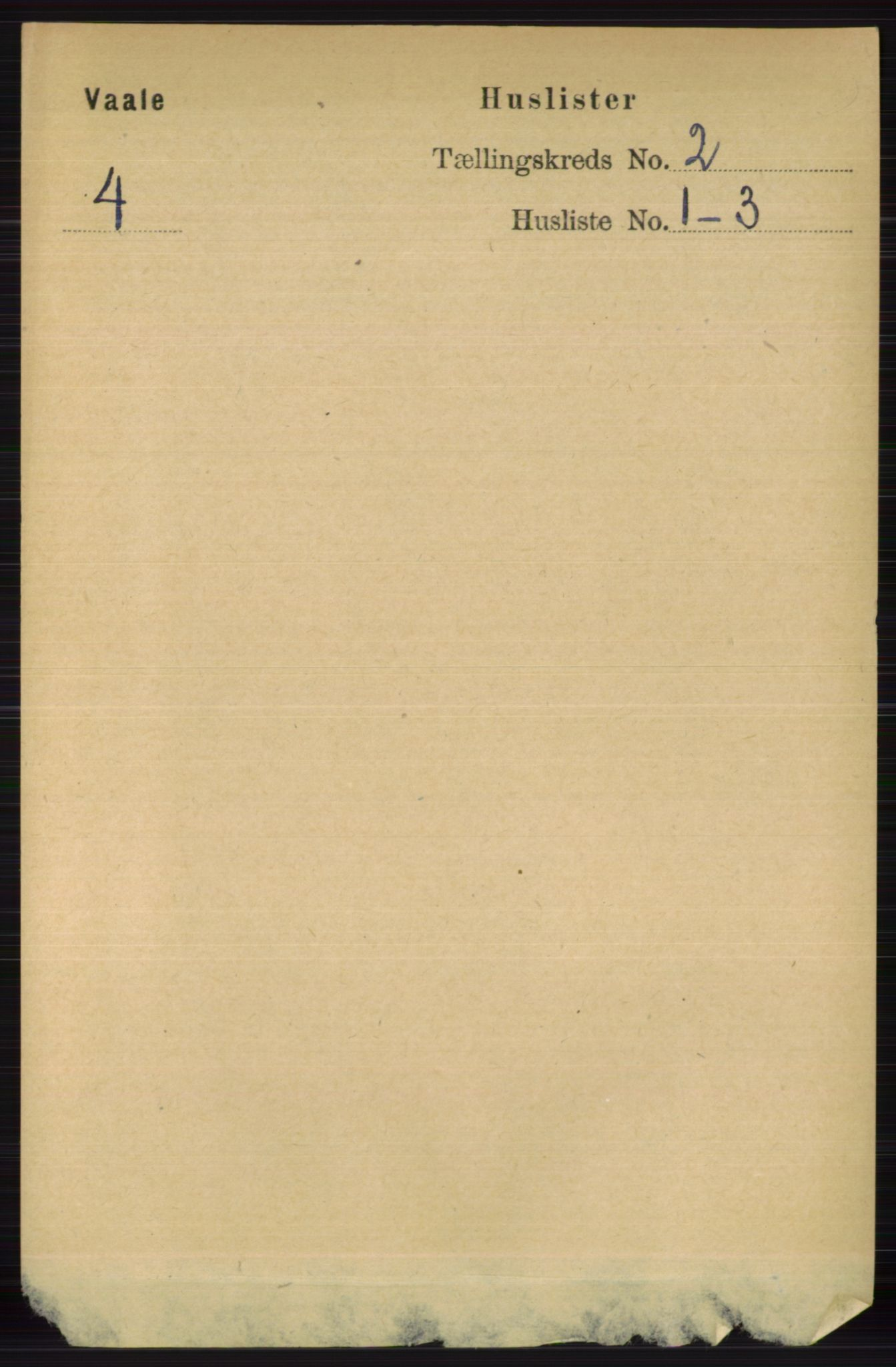 RA, Folketelling 1891 for 0716 Våle herred, 1891, s. 423