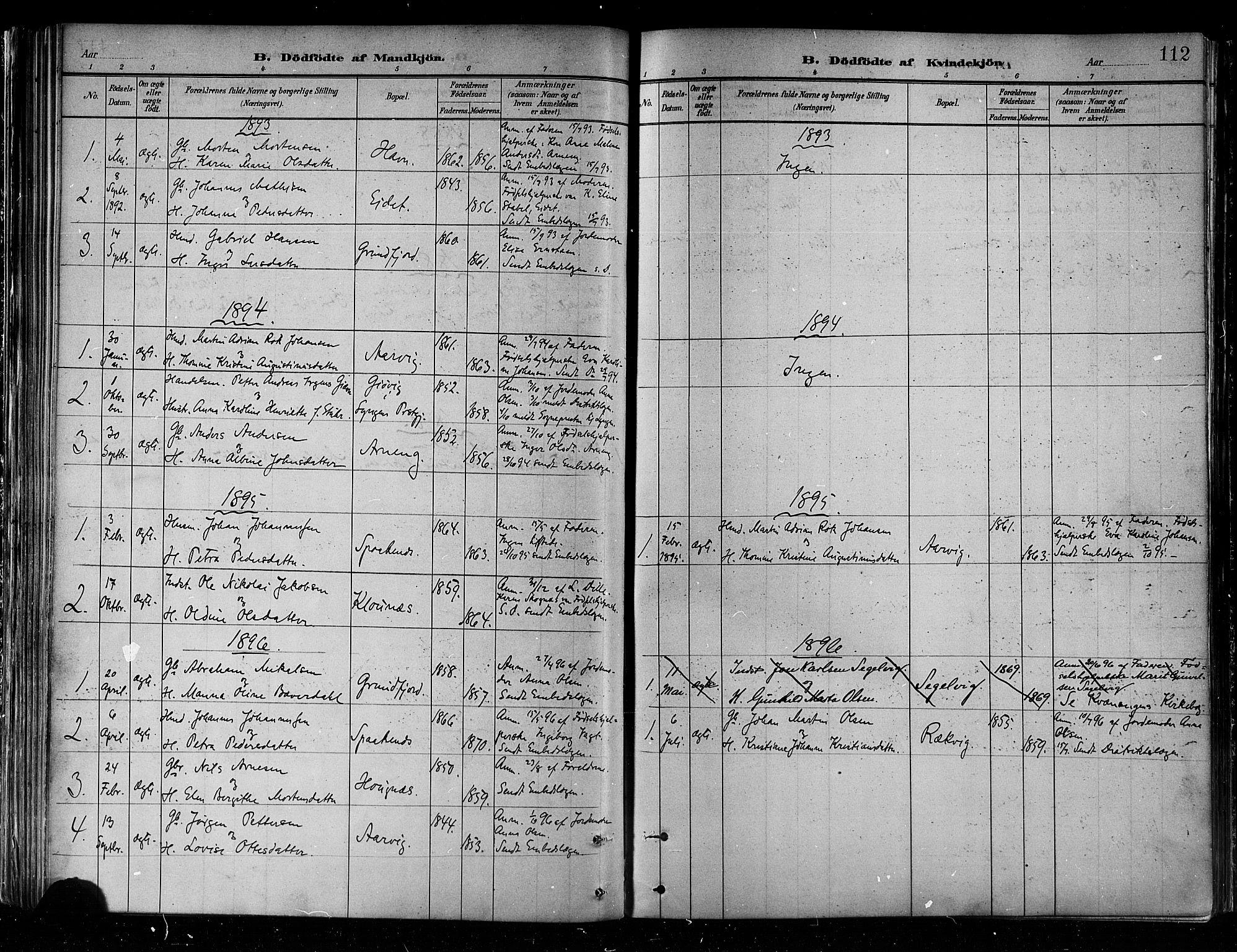 SATØ, Skjervøy sokneprestkontor, H/Ha/Haa/L0010kirke: Ministerialbok nr. 10, 1887-1898, s. 112