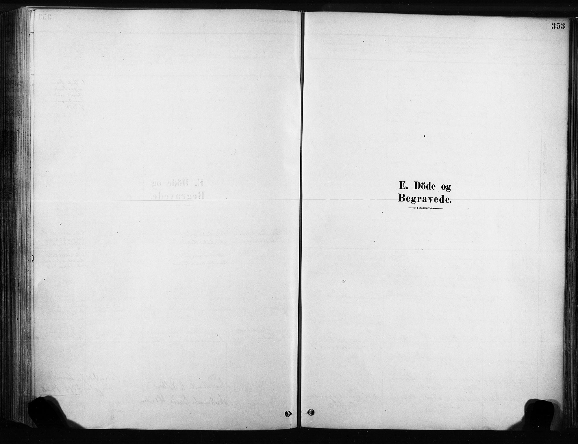 SAKO, Sandsvær kirkebøker, F/Fb/L0001: Ministerialbok nr. II 1, 1878-1906, s. 353