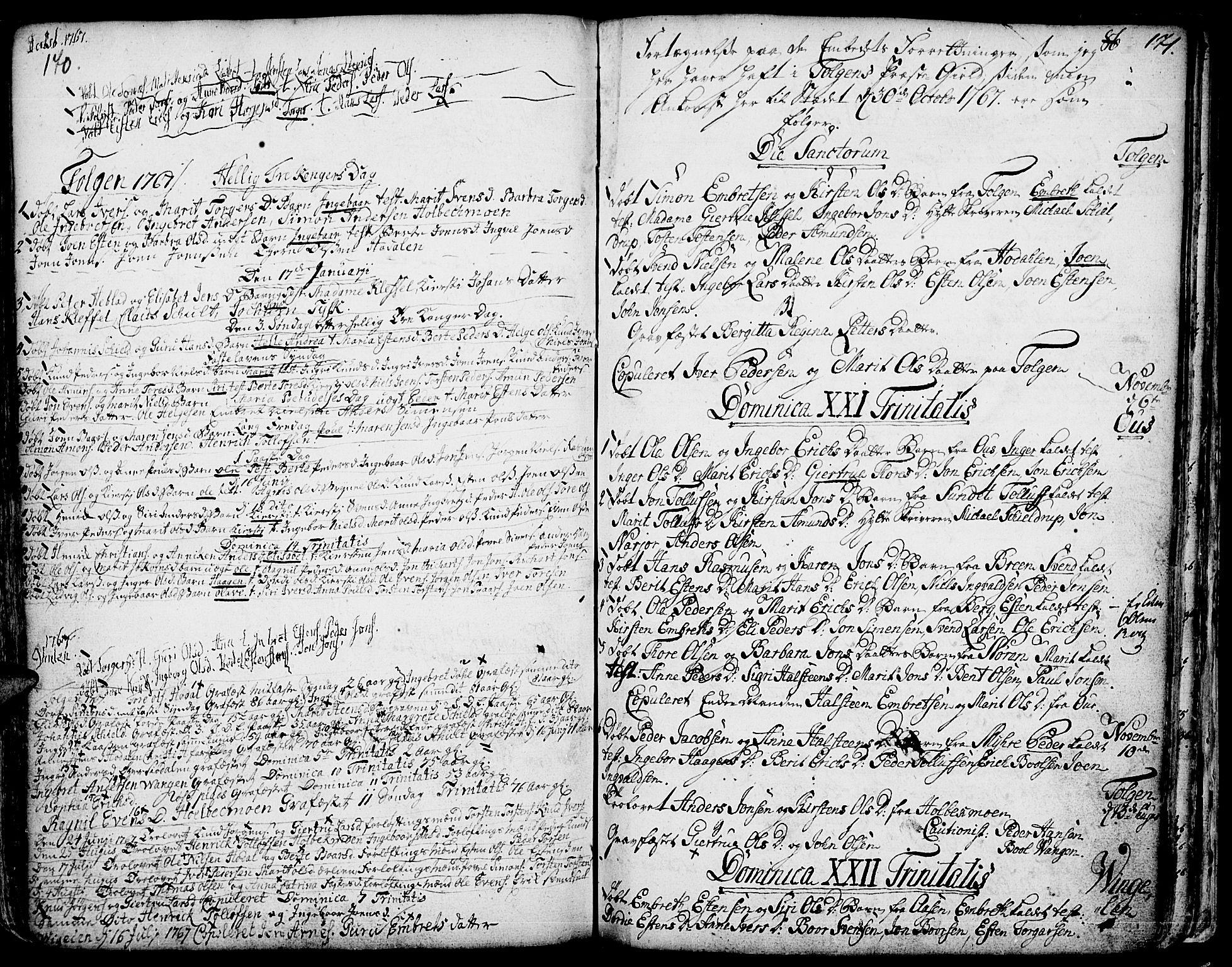 SAH, Tolga prestekontor, K/L0001: Ministerialbok nr. 1, 1733-1767, s. 170-171