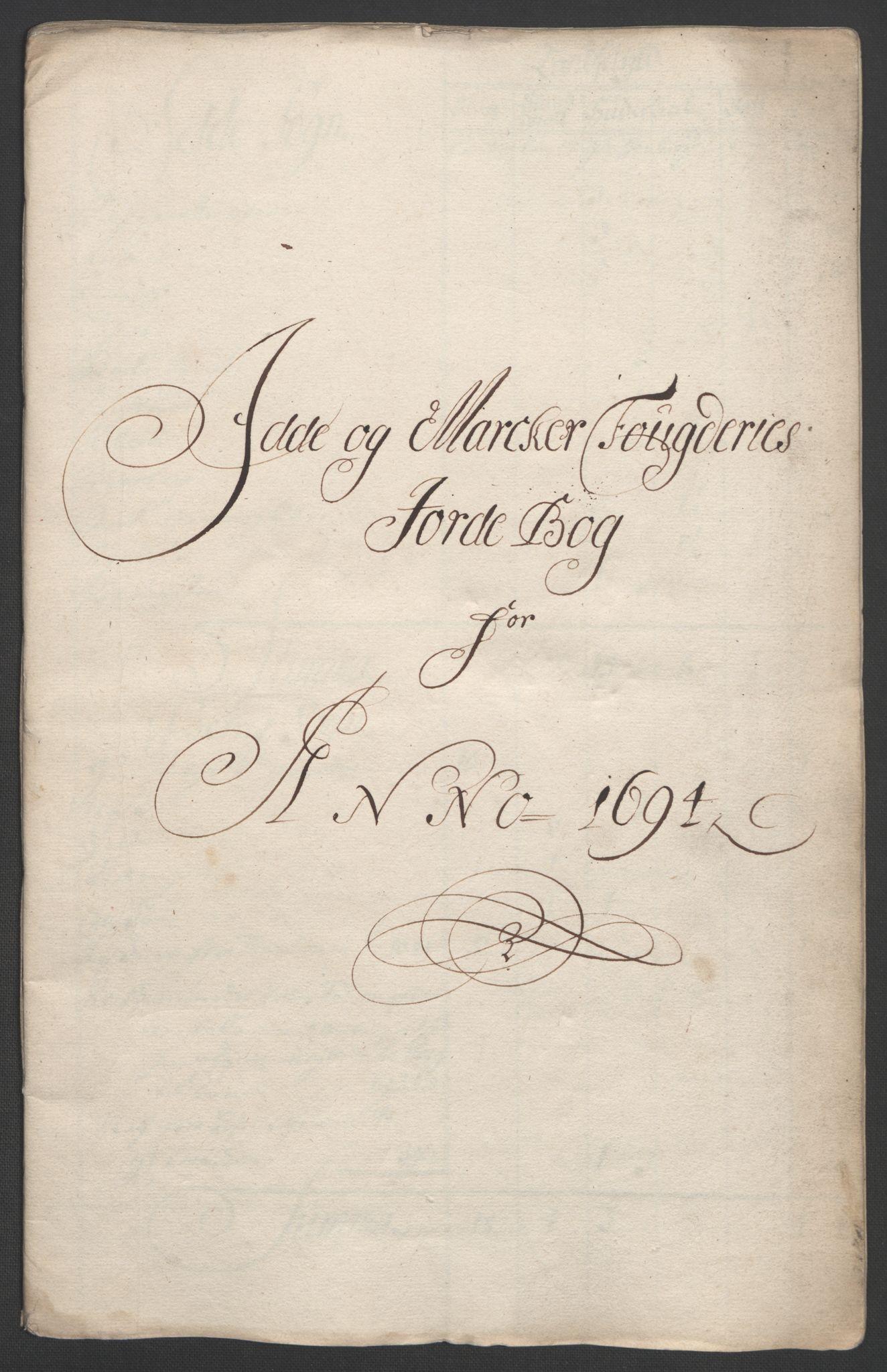 RA, Rentekammeret inntil 1814, Reviderte regnskaper, Fogderegnskap, R01/L0012: Fogderegnskap Idd og Marker, 1694-1695, s. 19