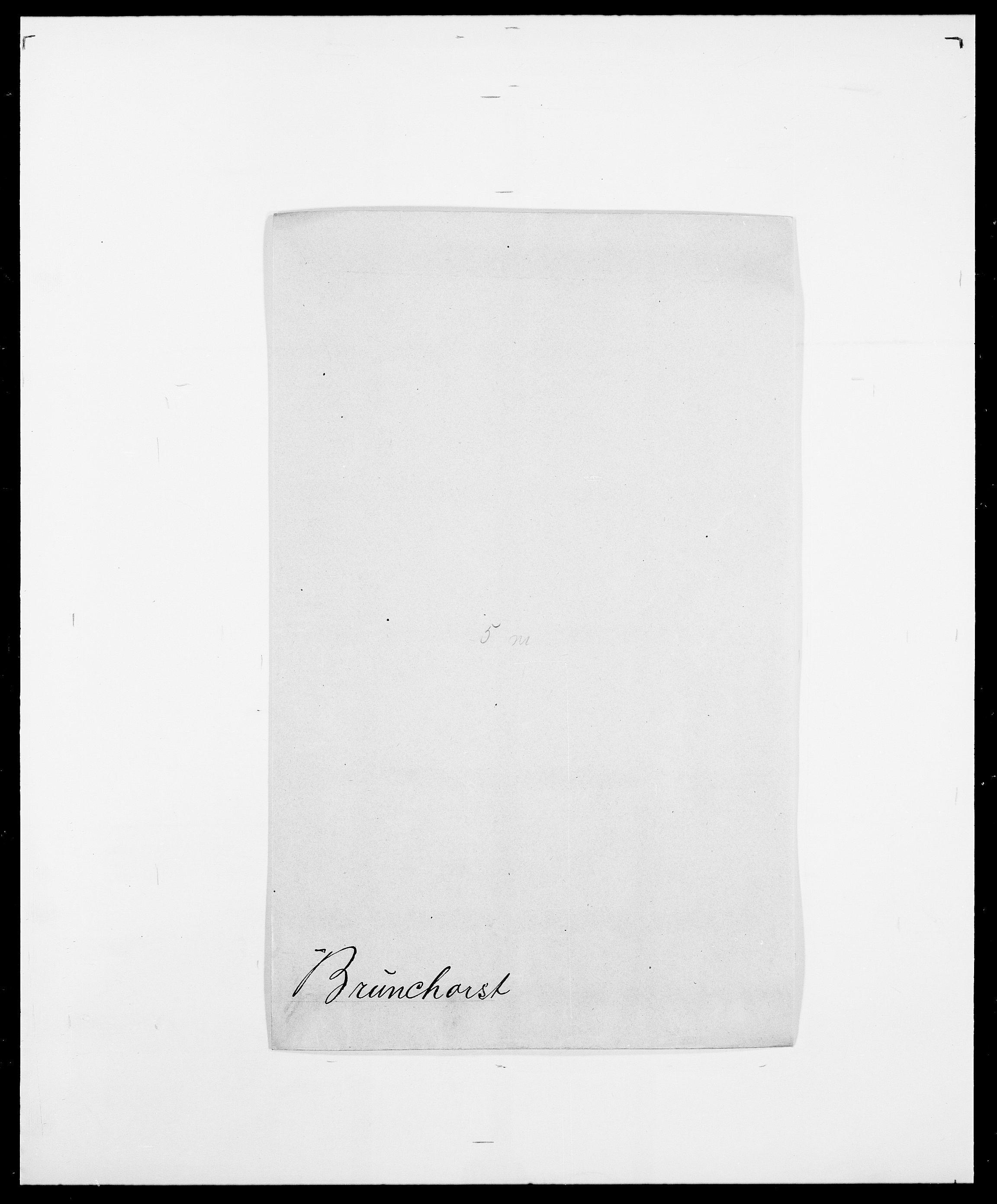 SAO, Delgobe, Charles Antoine - samling, D/Da/L0006: Brambani - Brønø, s. 814