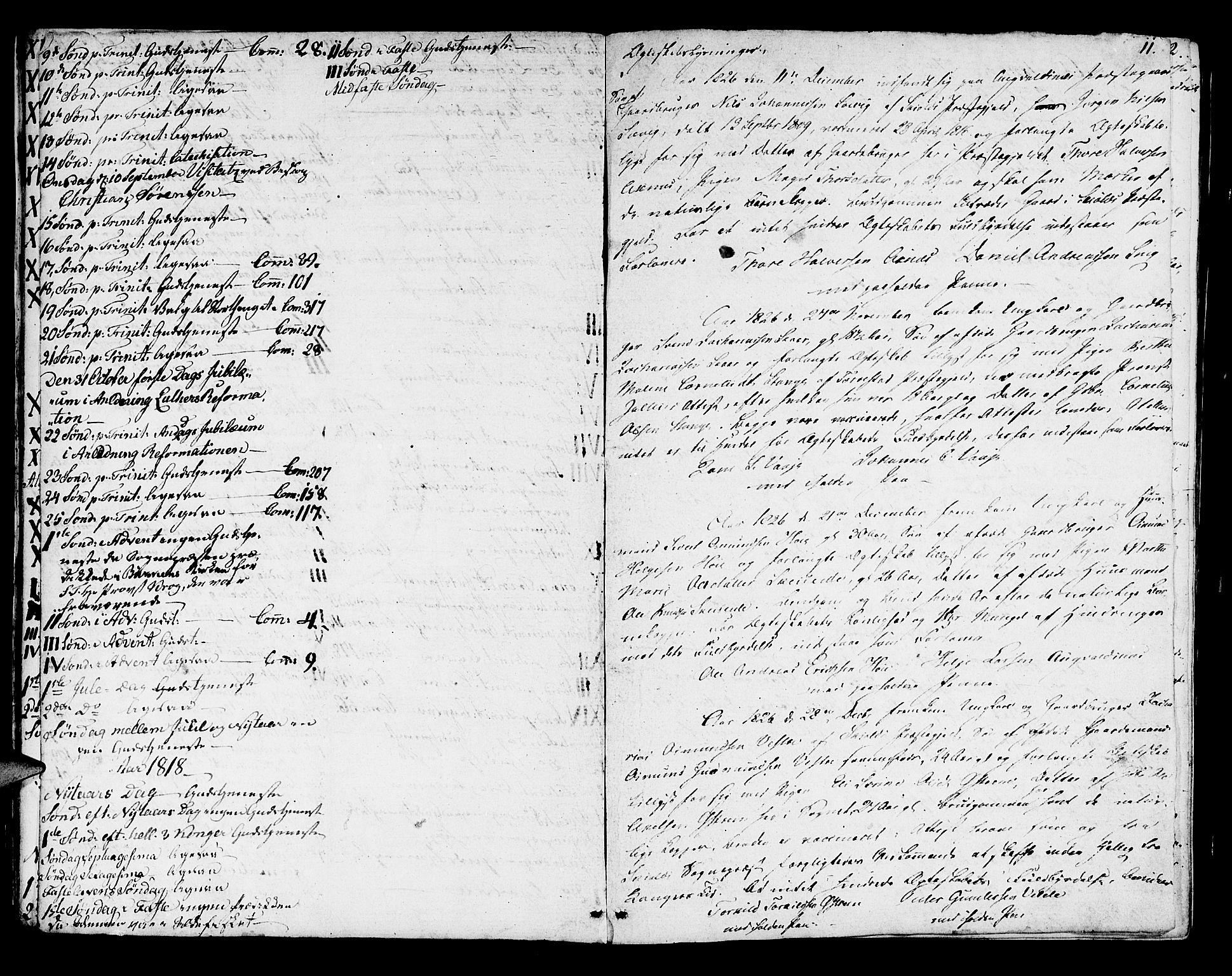 SAST, Avaldsnes sokneprestkontor, H/Ha/Haa/L0003: Ministerialbok nr. A 3, 1801-1817, s. 11