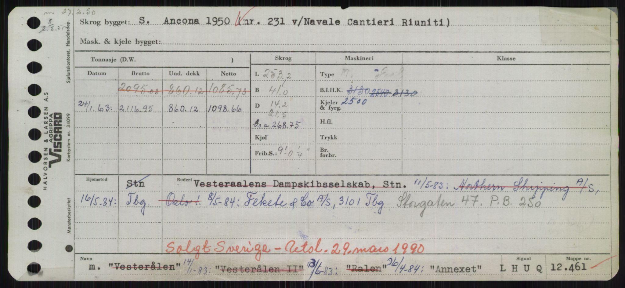 RA, Sjøfartsdirektoratet med forløpere, Skipsmålingen, H/Hd/L0001: Fartøy, A-Anv, s. 759