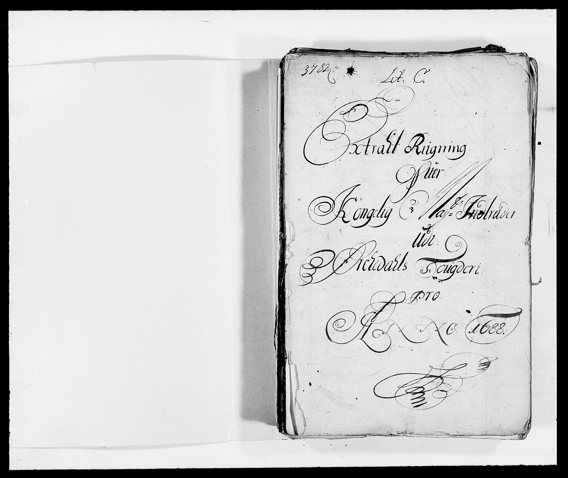 RA, Rentekammeret inntil 1814, Reviderte regnskaper, Fogderegnskap, R58/L3935: Fogderegnskap Orkdal, 1687-1688, s. 194