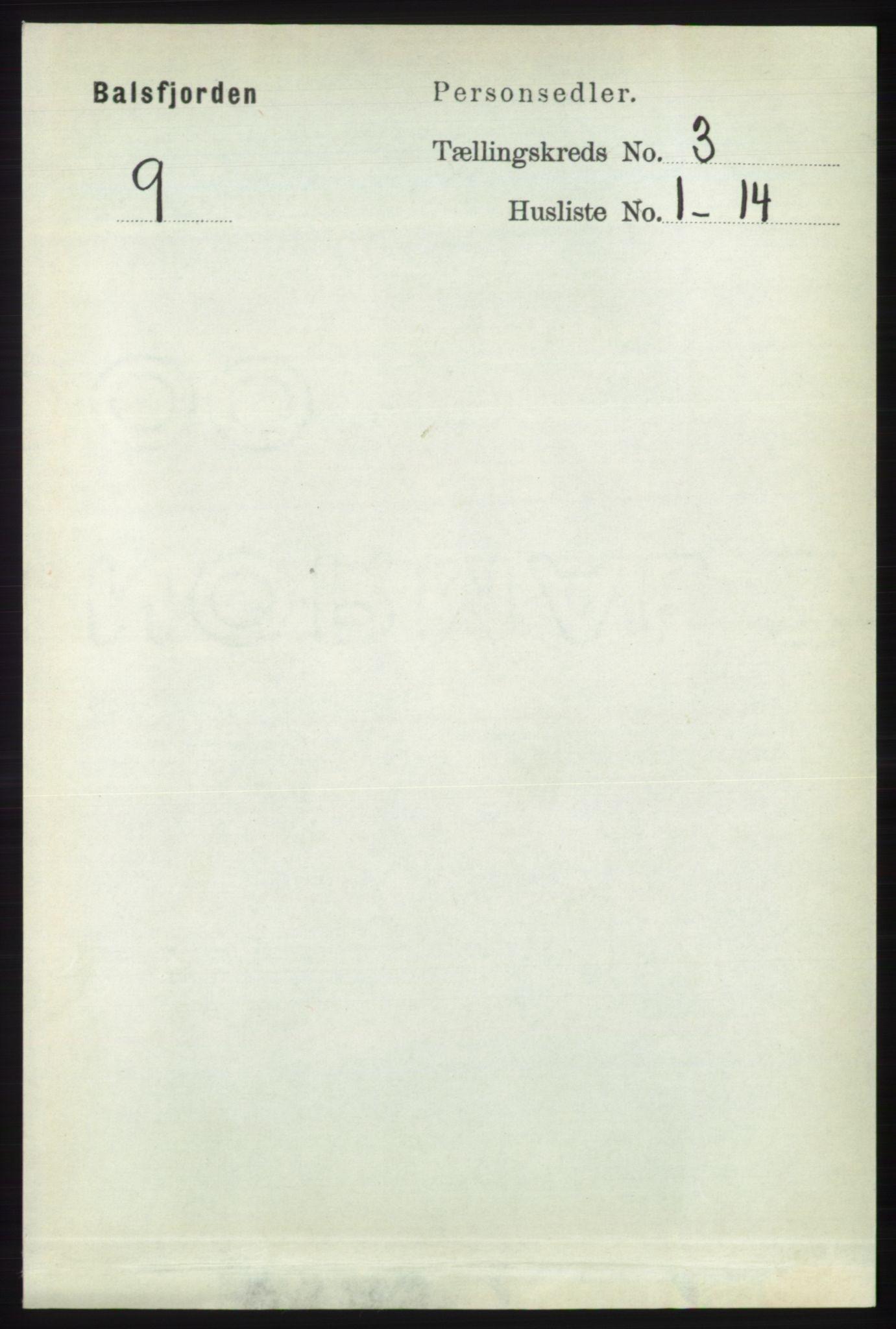 RA, Folketelling 1891 for 1933 Balsfjord herred, 1891, s. 846