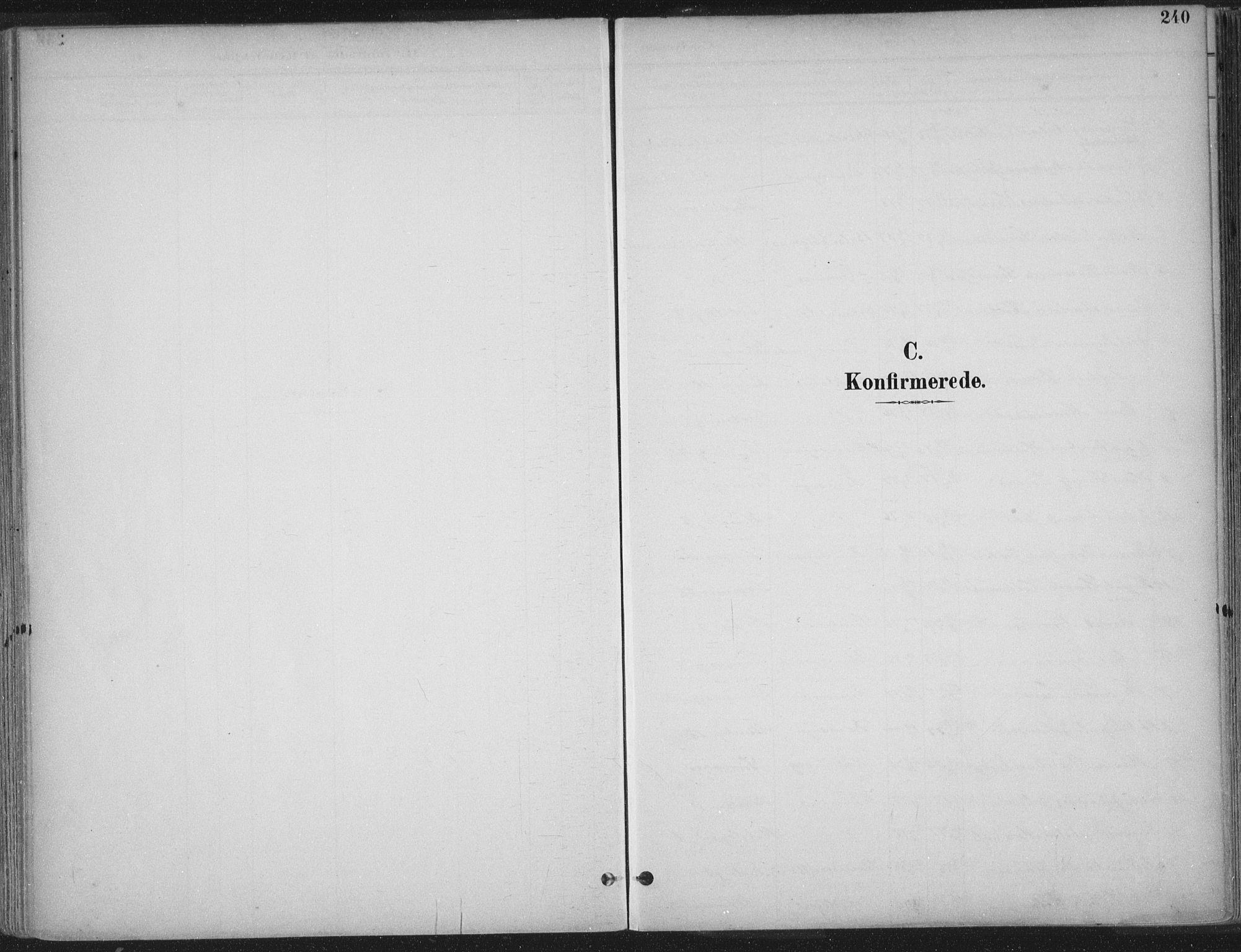 SAT, Ministerialprotokoller, klokkerbøker og fødselsregistre - Sør-Trøndelag, 601/L0062: Ministerialbok nr. 601A30, 1891-1911, s. 240