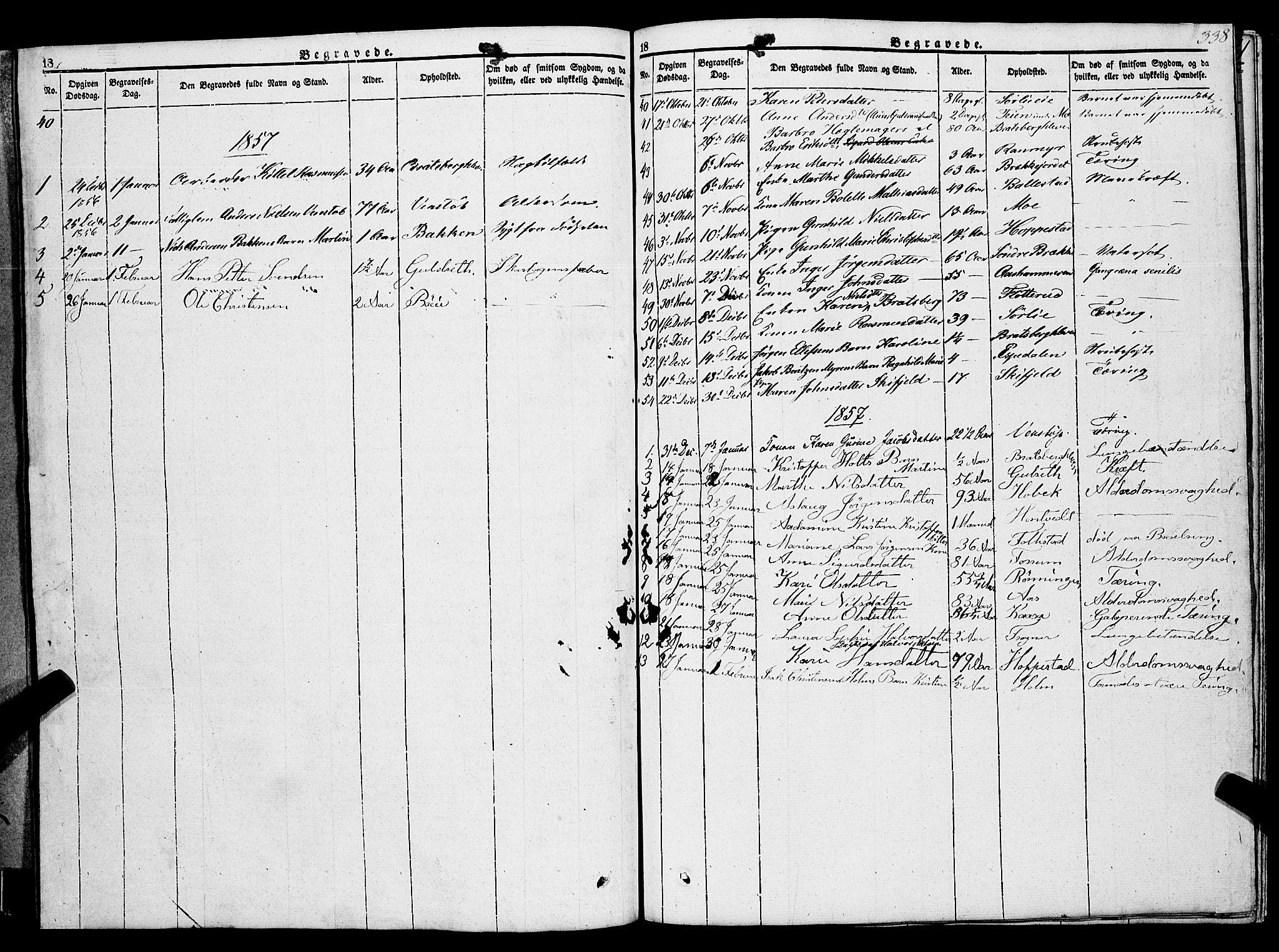 SAKO, Gjerpen kirkebøker, F/Fa/L0007b: Ministerialbok nr. 7B, 1834-1857, s. 338