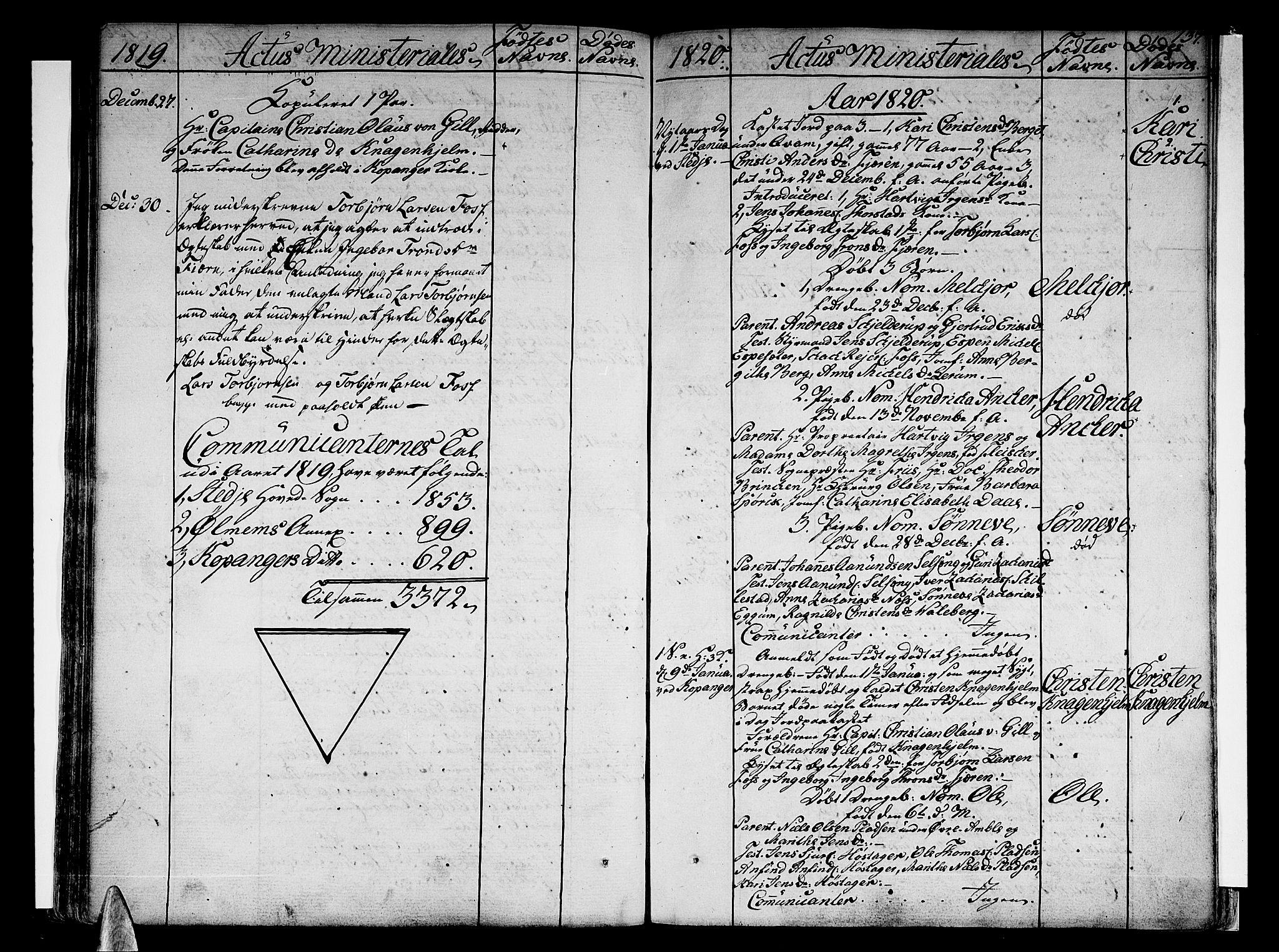 SAB, Sogndal sokneprestembete, H/Haa/Haaa/L0009: Ministerialbok nr. A 9, 1809-1821, s. 137
