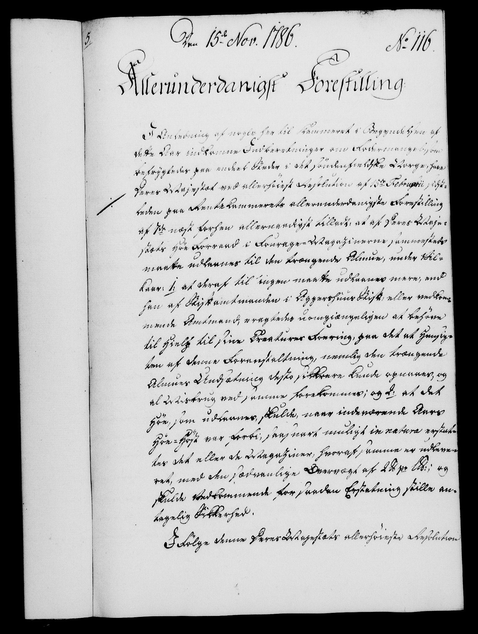 RA, Rentekammeret, Kammerkanselliet, G/Gf/Gfa/L0068: Norsk relasjons- og resolusjonsprotokoll (merket RK 52.68), 1786, s. 979