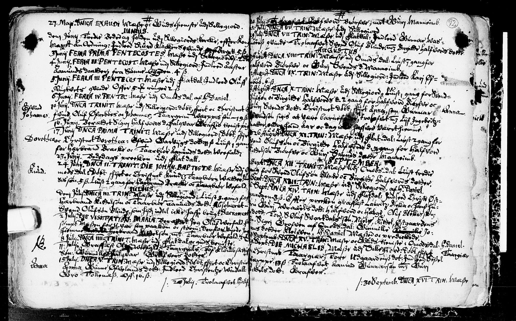 SAKO, Seljord kirkebøker, F/Fa/L0001: Ministerialbok nr. I 1, 1654-1686, s. 92