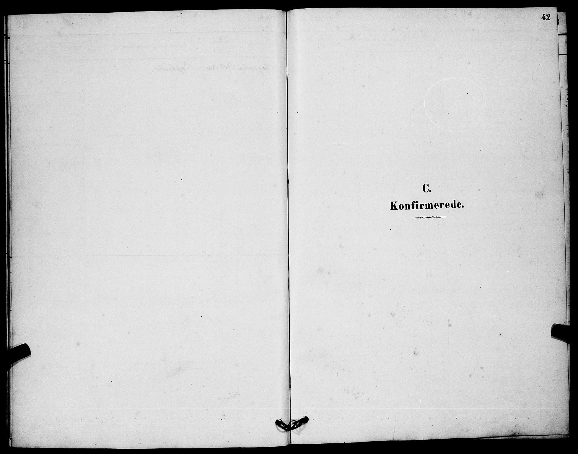 SAKO, Solum kirkebøker, G/Gc/L0001: Klokkerbok nr. III 1, 1880-1902, s. 42