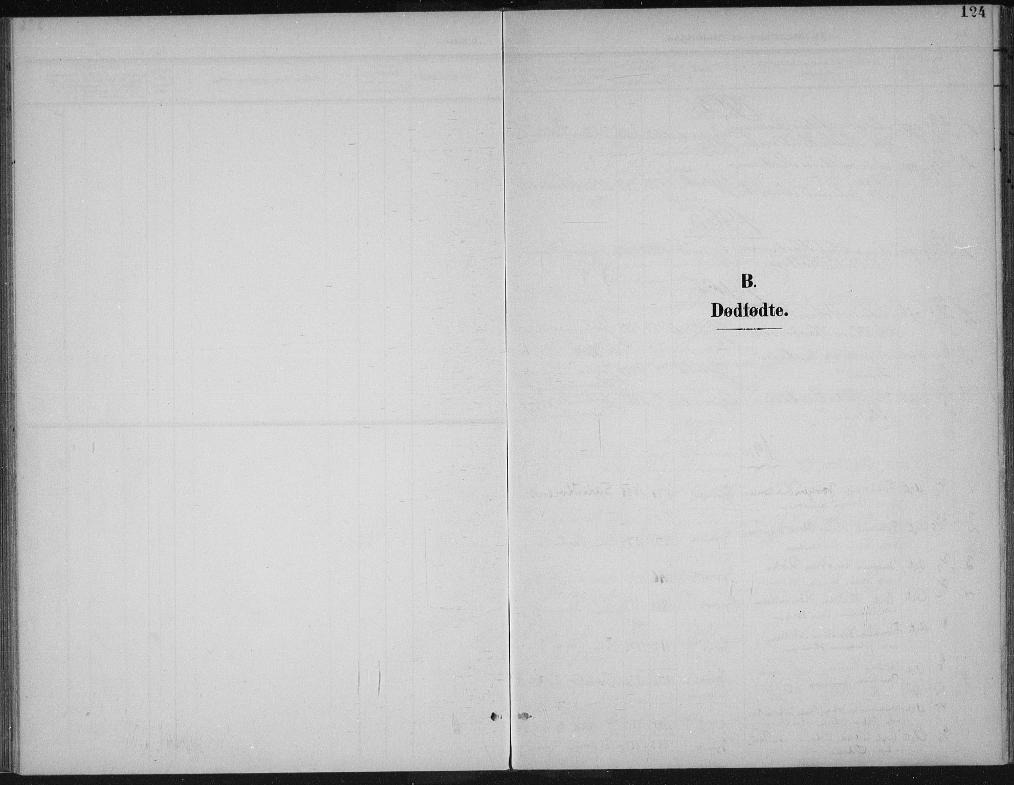 SAH, Vardal prestekontor, H/Ha/Haa/L0013: Ministerialbok nr. 13, 1901-1911, s. 124