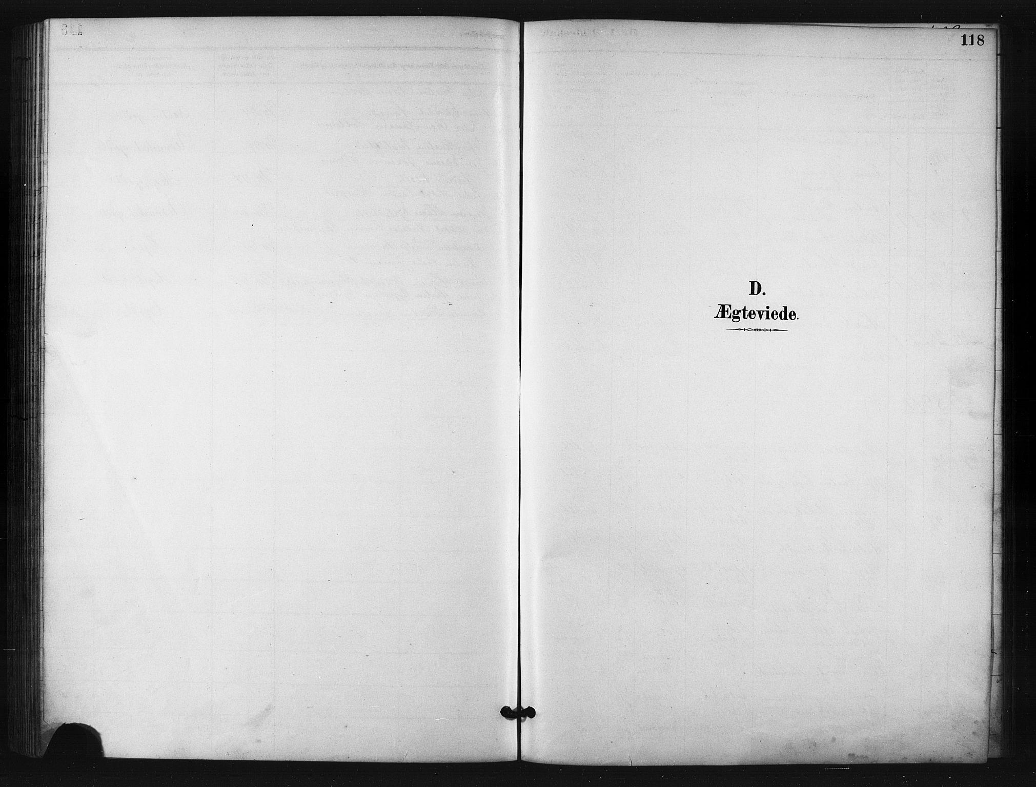 SATØ, Salangen sokneprestembete, H/Ha/L0001klokker: Klokkerbok nr. 1, 1893-1910, s. 118