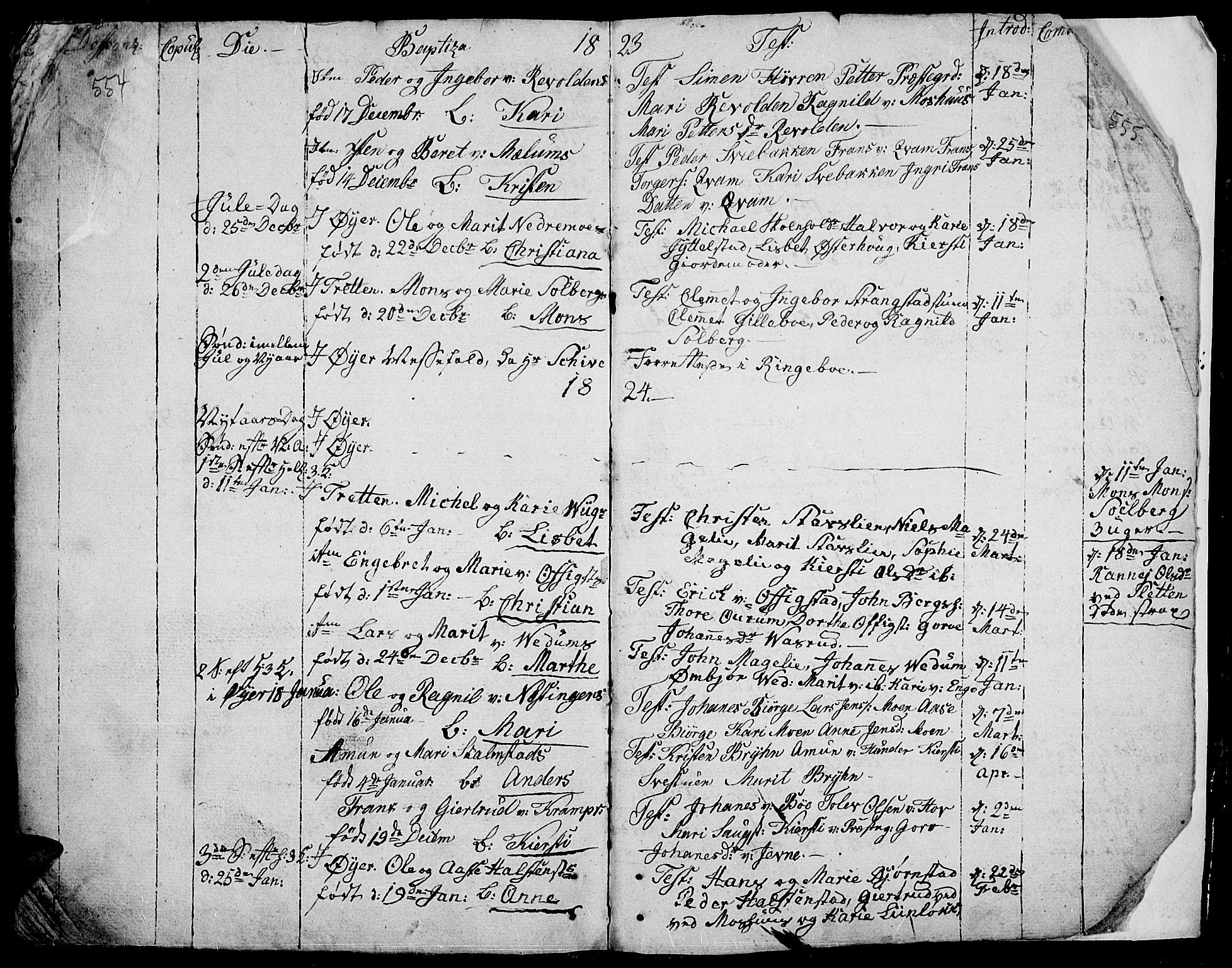 SAH, Øyer prestekontor, Ministerialbok nr. 3, 1784-1824, s. 554-555