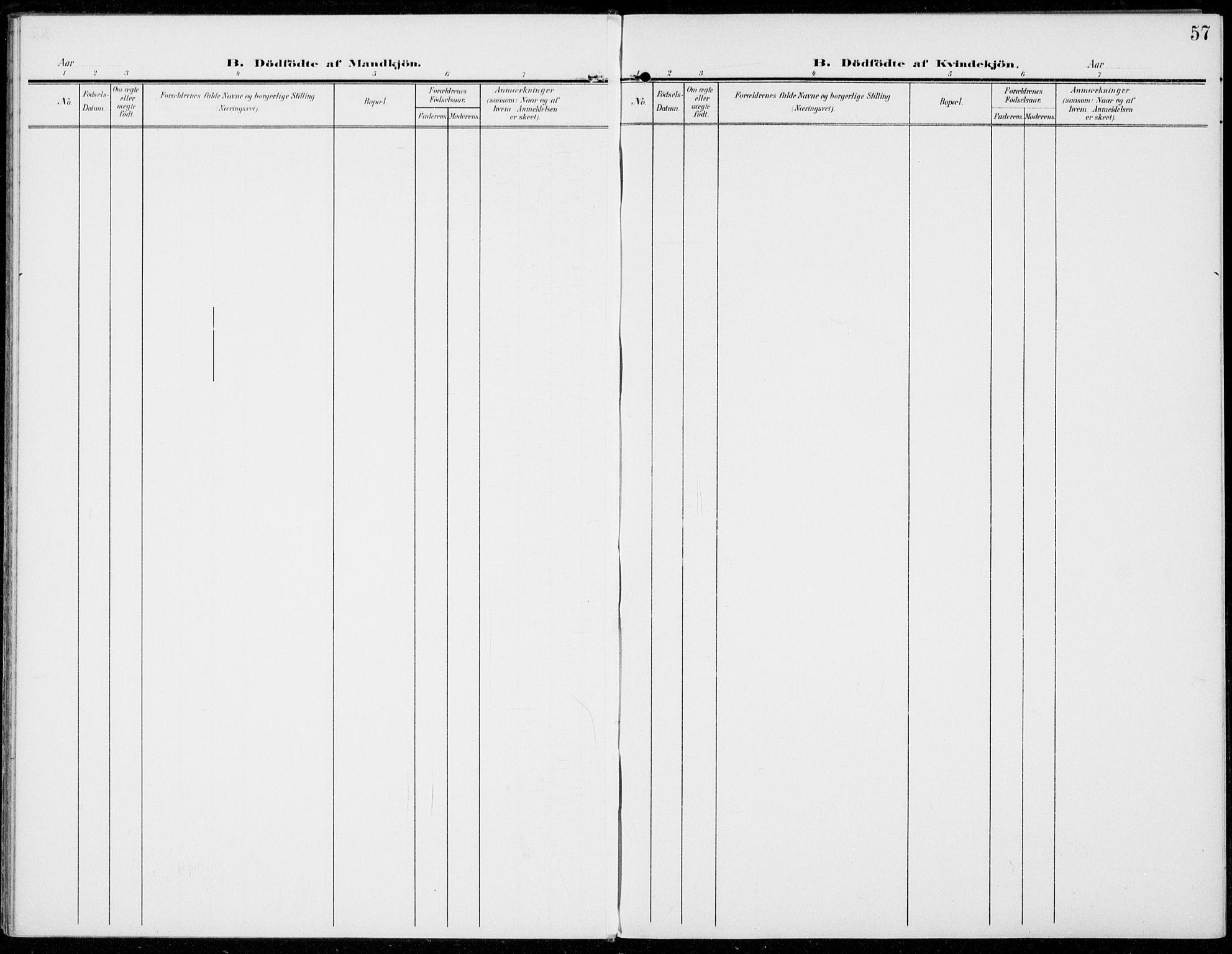 SAH, Sel prestekontor, Ministerialbok nr. 1, 1905-1922, s. 57