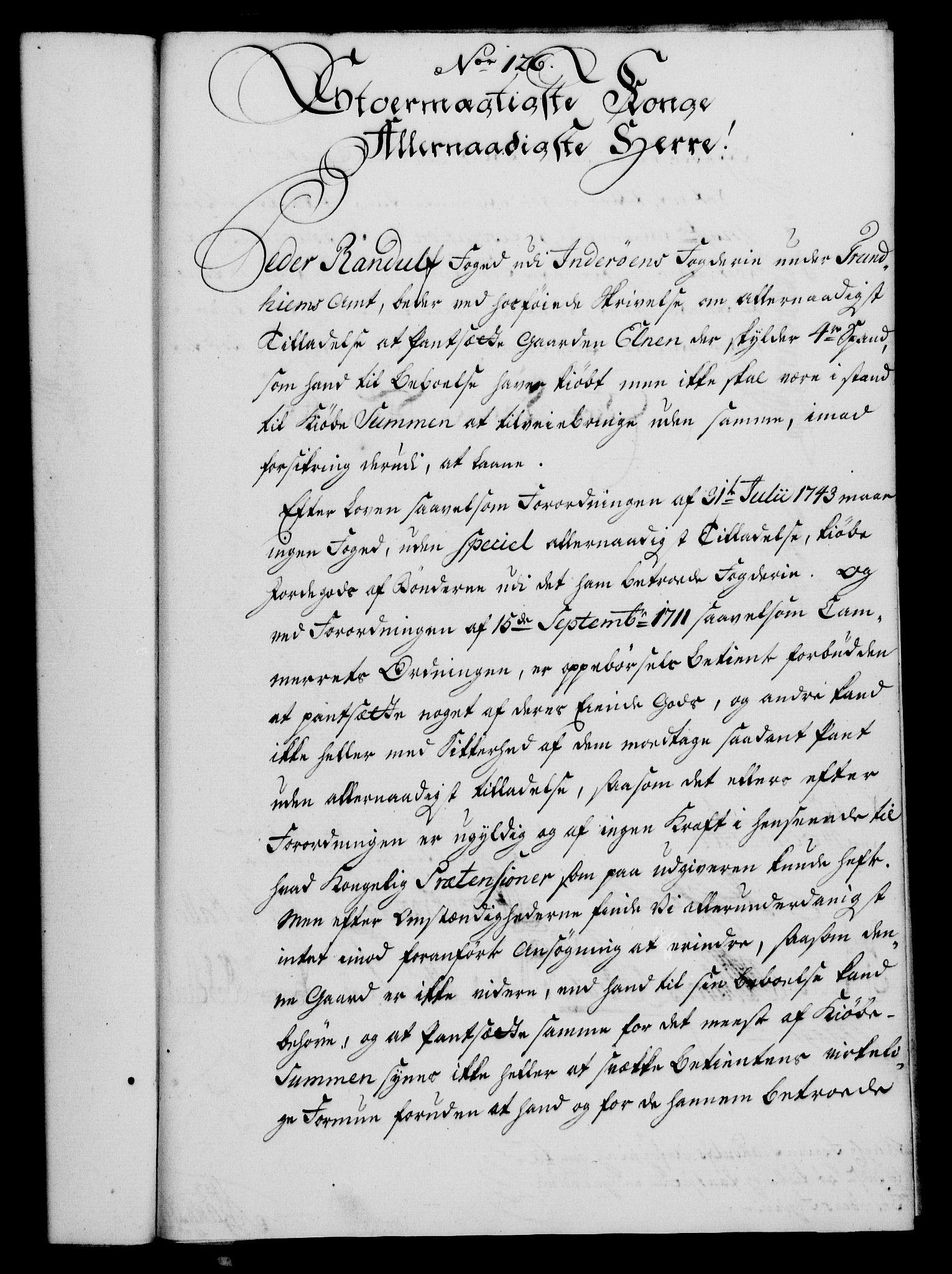 RA, Rentekammeret, Kammerkanselliet, G/Gf/Gfa/L0042: Norsk relasjons- og resolusjonsprotokoll (merket RK 52.42), 1760, s. 458