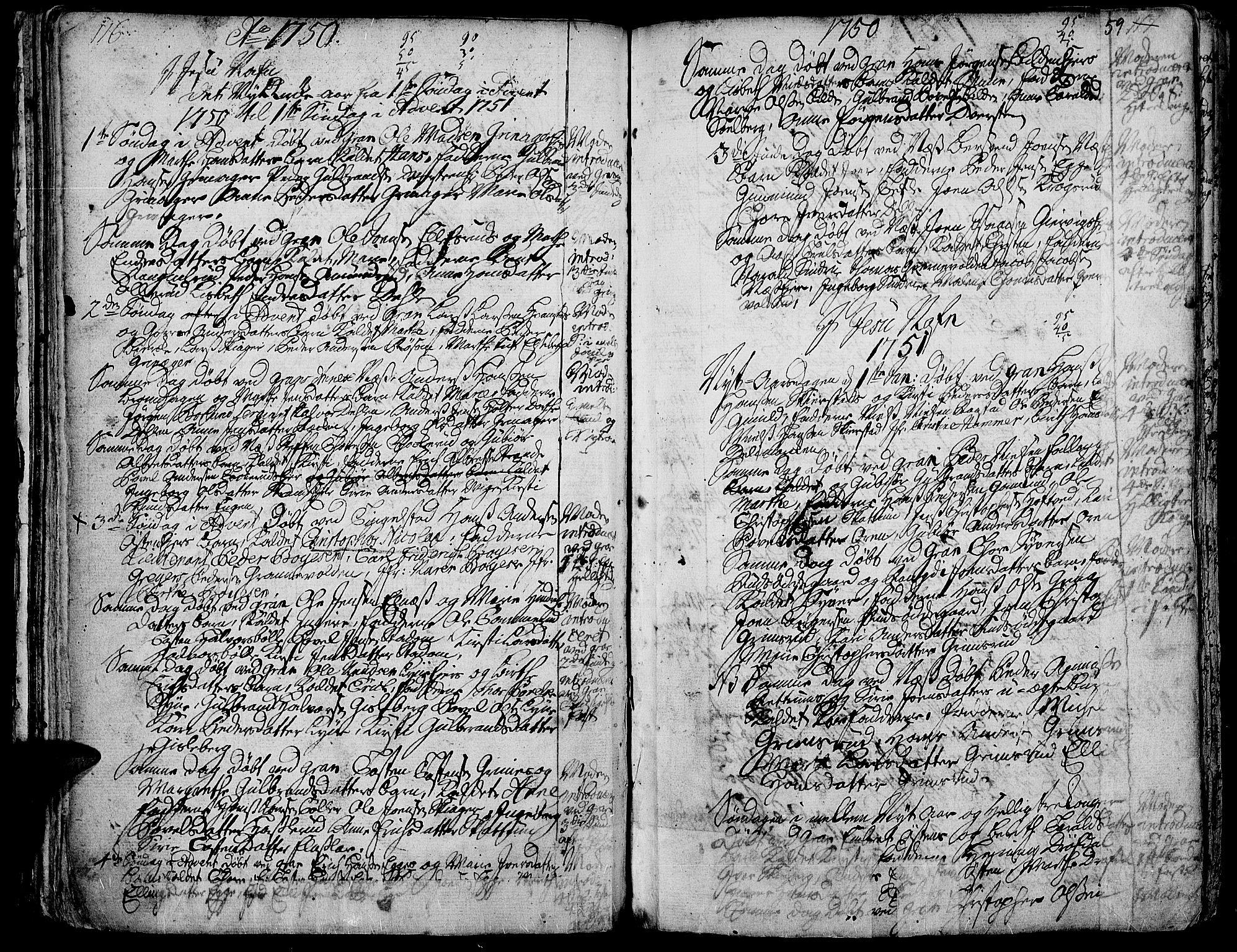 SAH, Gran prestekontor, Ministerialbok nr. 3, 1745-1758, s. 59