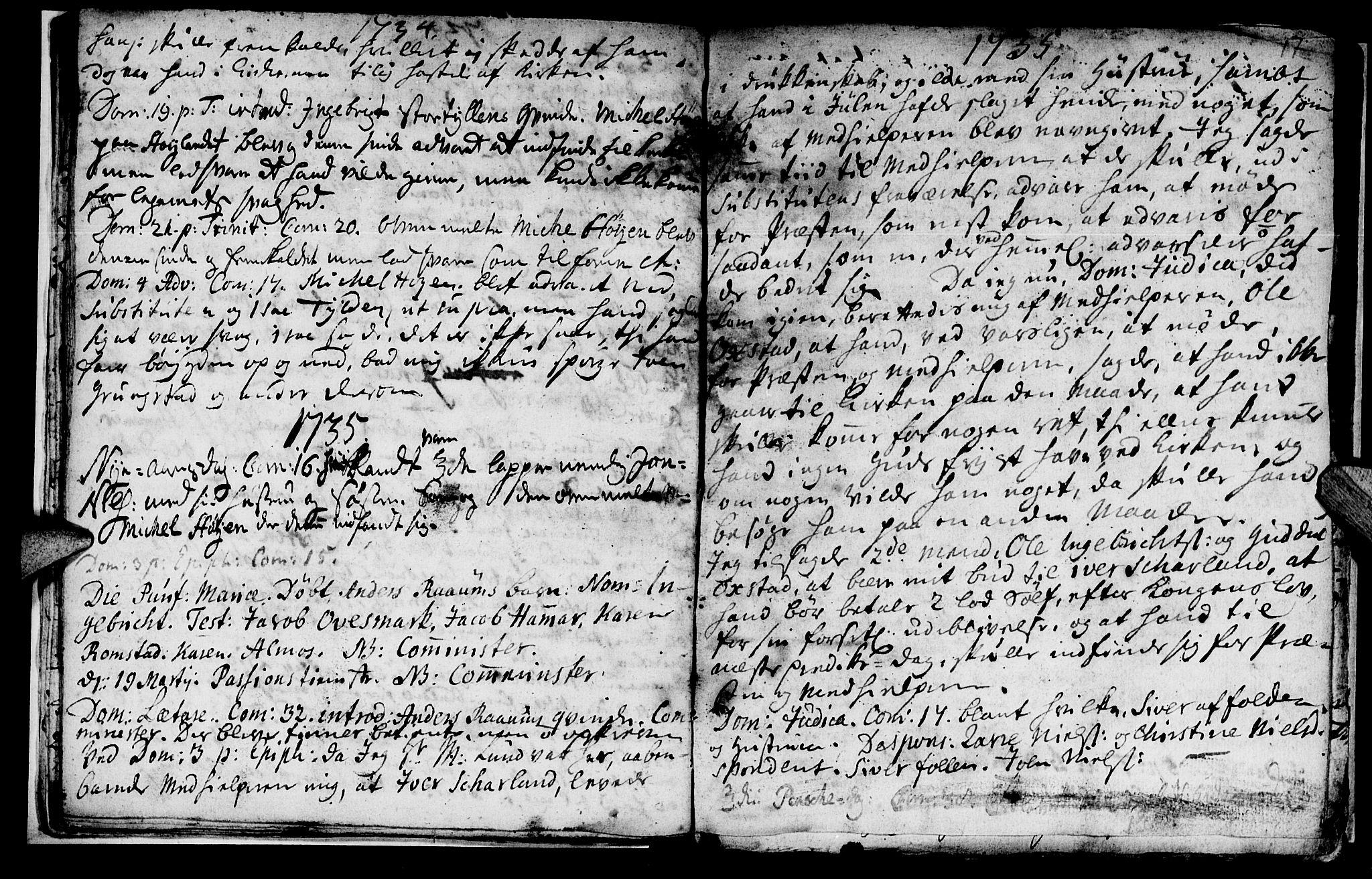 SAT, Ministerialprotokoller, klokkerbøker og fødselsregistre - Nord-Trøndelag, 765/L0560: Ministerialbok nr. 765A01, 1706-1748, s. 17