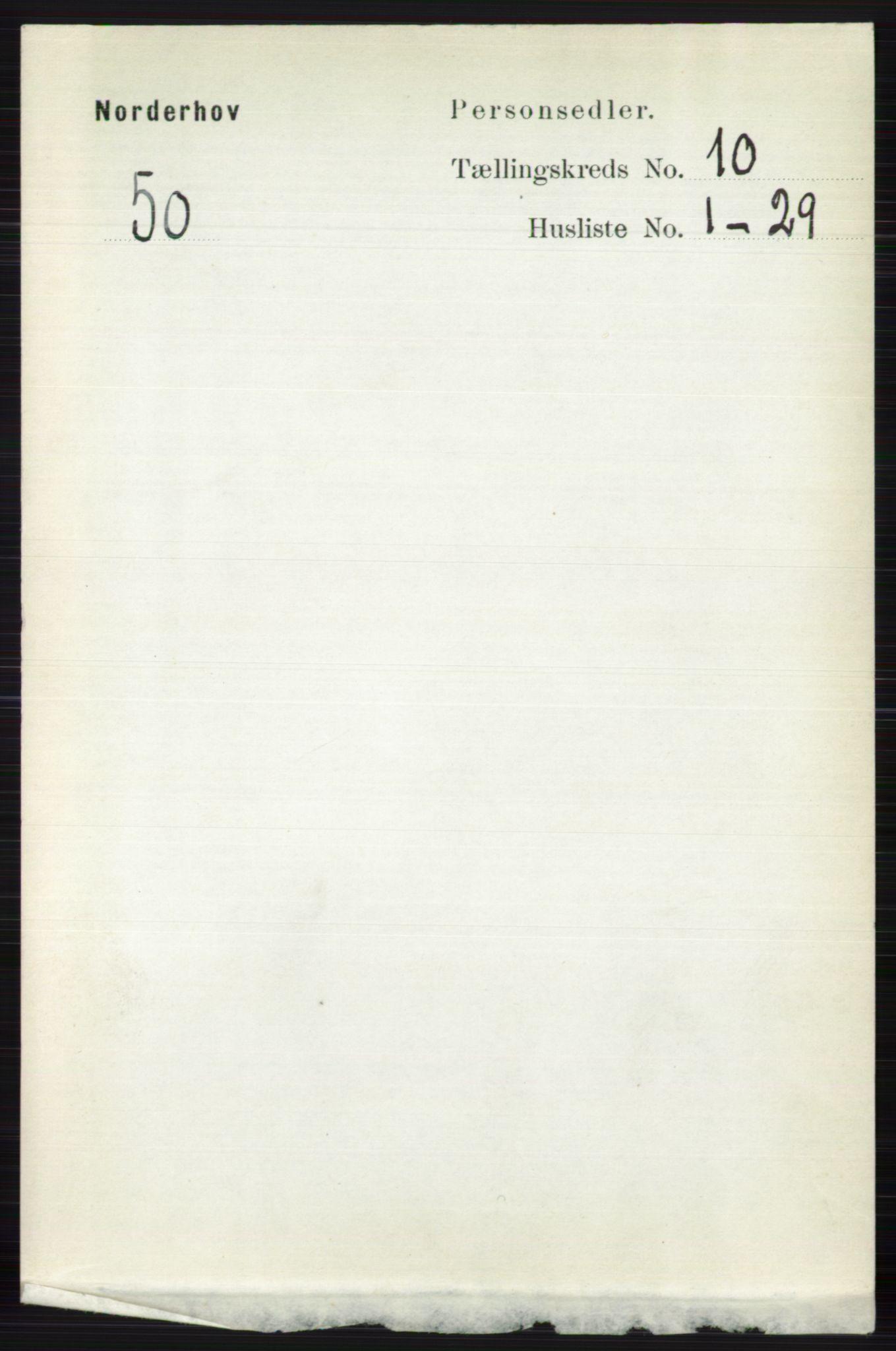RA, Folketelling 1891 for 0613 Norderhov herred, 1891, s. 7512