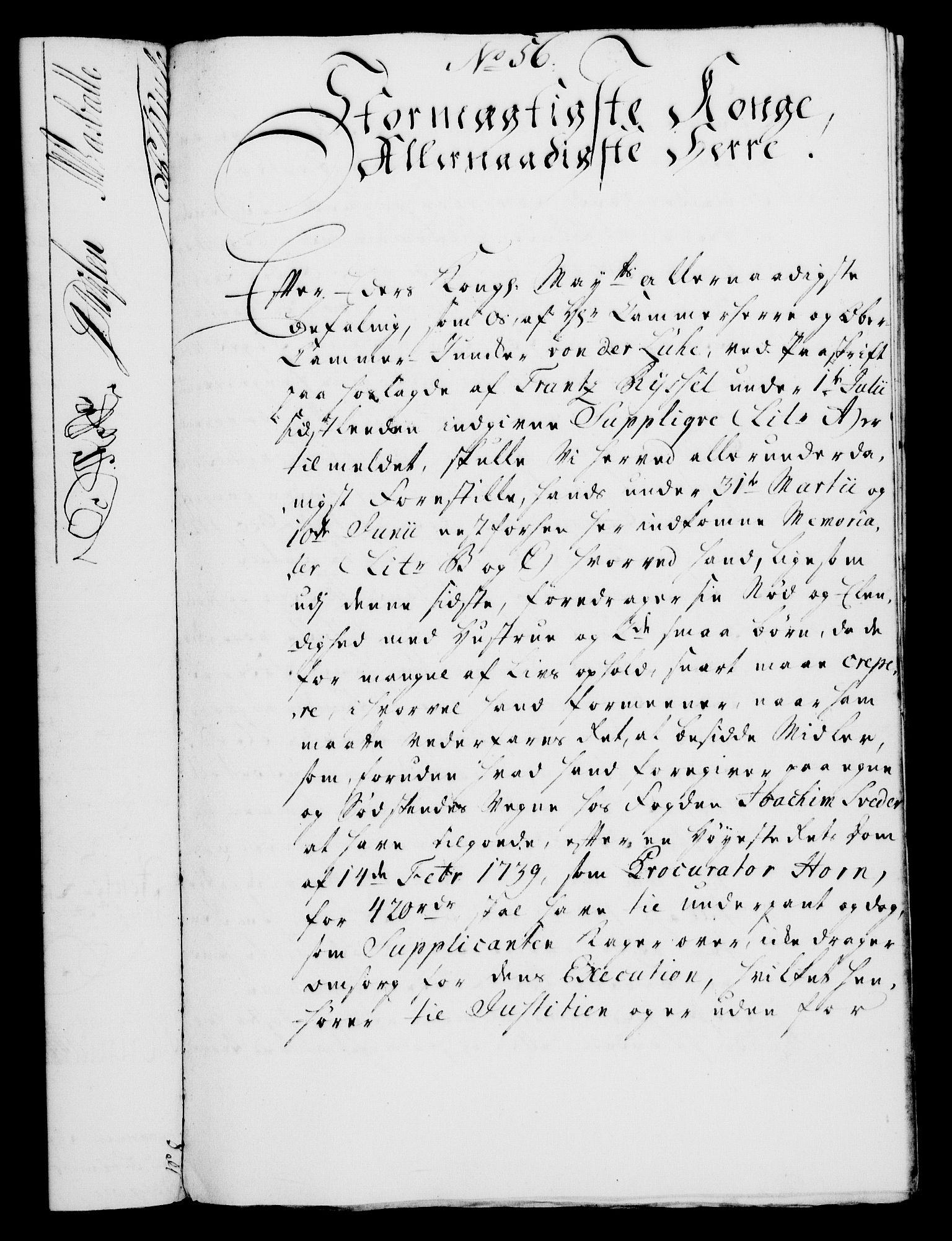 RA, Rentekammeret, Kammerkanselliet, G/Gf/Gfa/L0029: Norsk relasjons- og resolusjonsprotokoll (merket RK 52.29), 1746-1747, s. 484