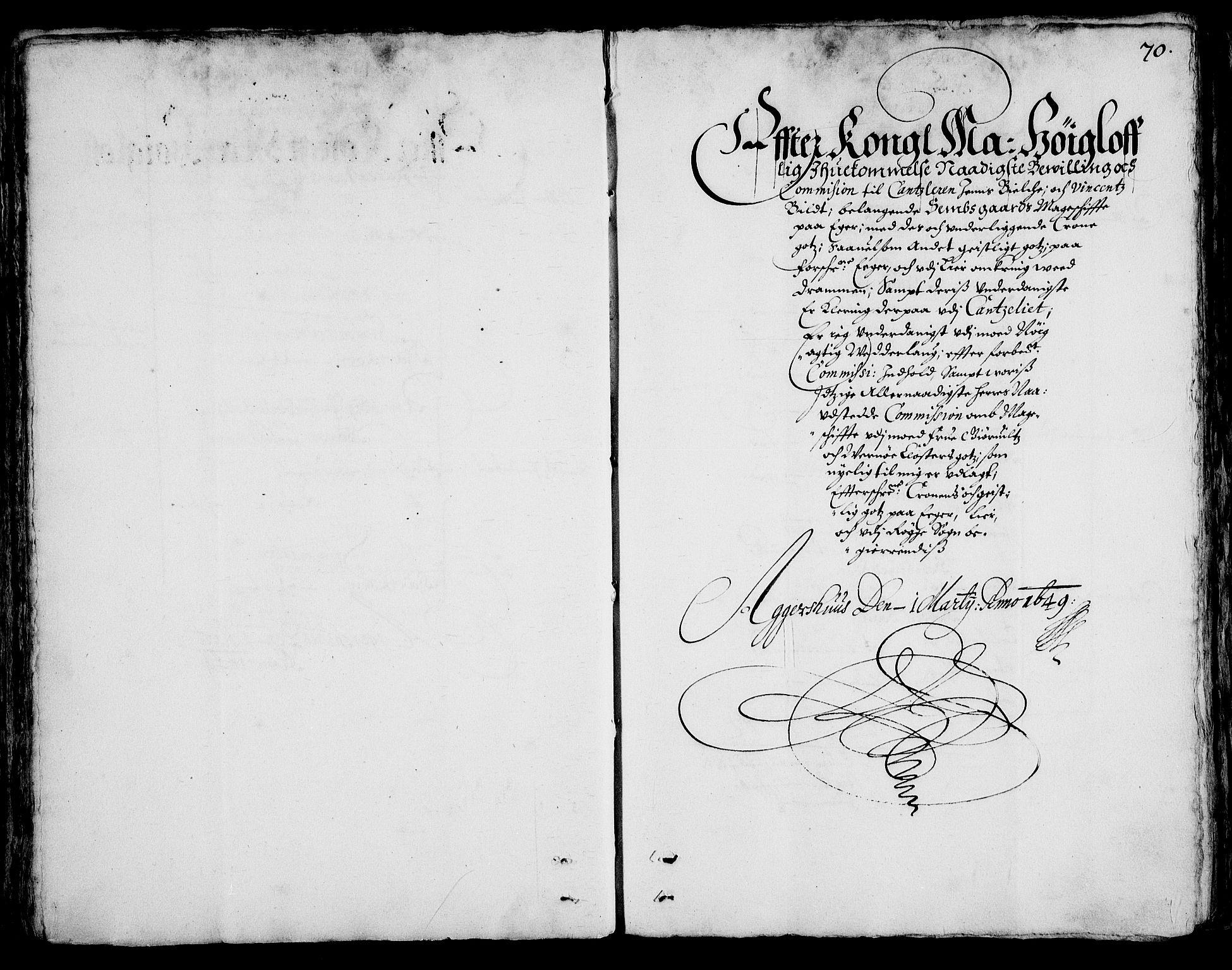 RA, Rentekammeret inntil 1814, Realistisk ordnet avdeling, On/L0001: Statens gods, 1651, s. 69b-70a