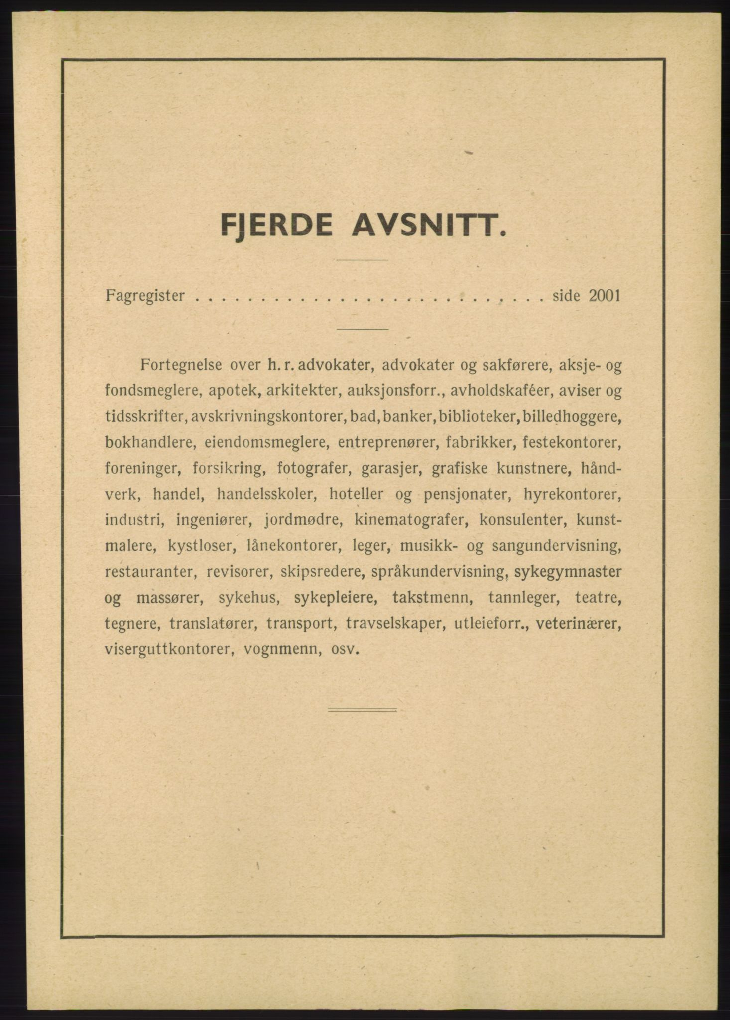RA, Oslo adressebok (publikasjon)*, 1945, s. upaginert
