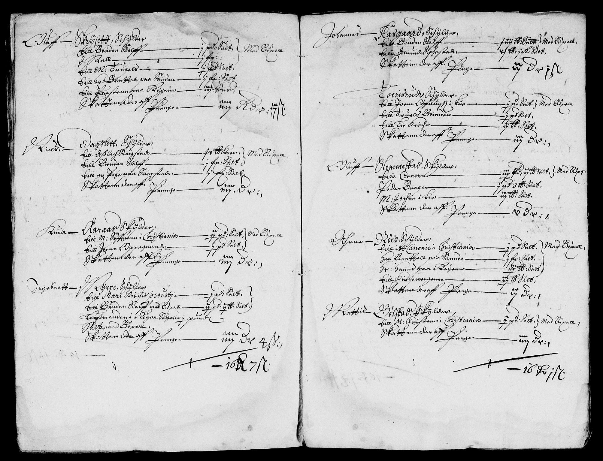 RA, Rentekammeret inntil 1814, Reviderte regnskaper, Lensregnskaper, R/Rb/Rba/L0221: Akershus len, 1652-1655