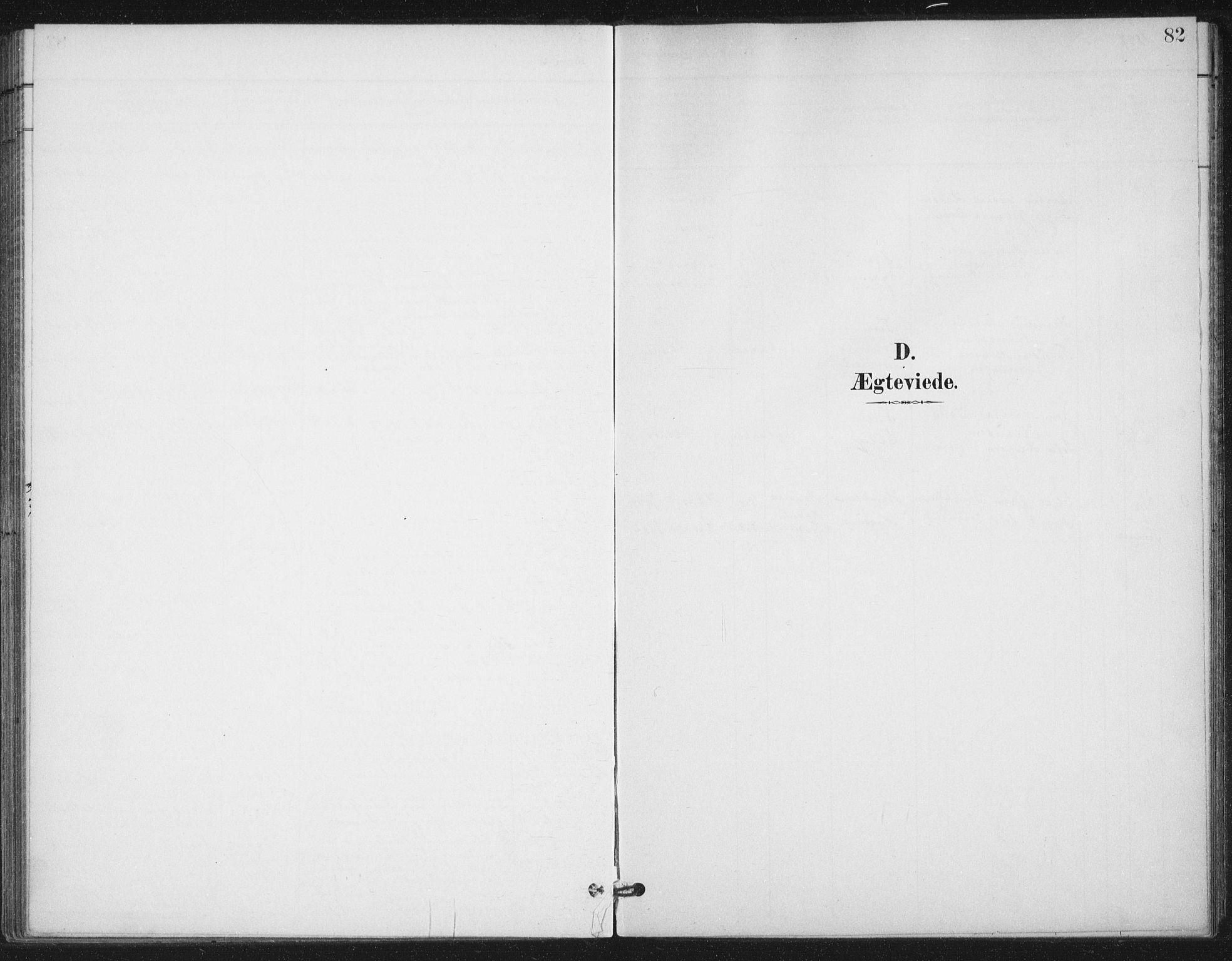 SAT, Ministerialprotokoller, klokkerbøker og fødselsregistre - Nordland, 894/L1356: Ministerialbok nr. 894A02, 1897-1914, s. 82