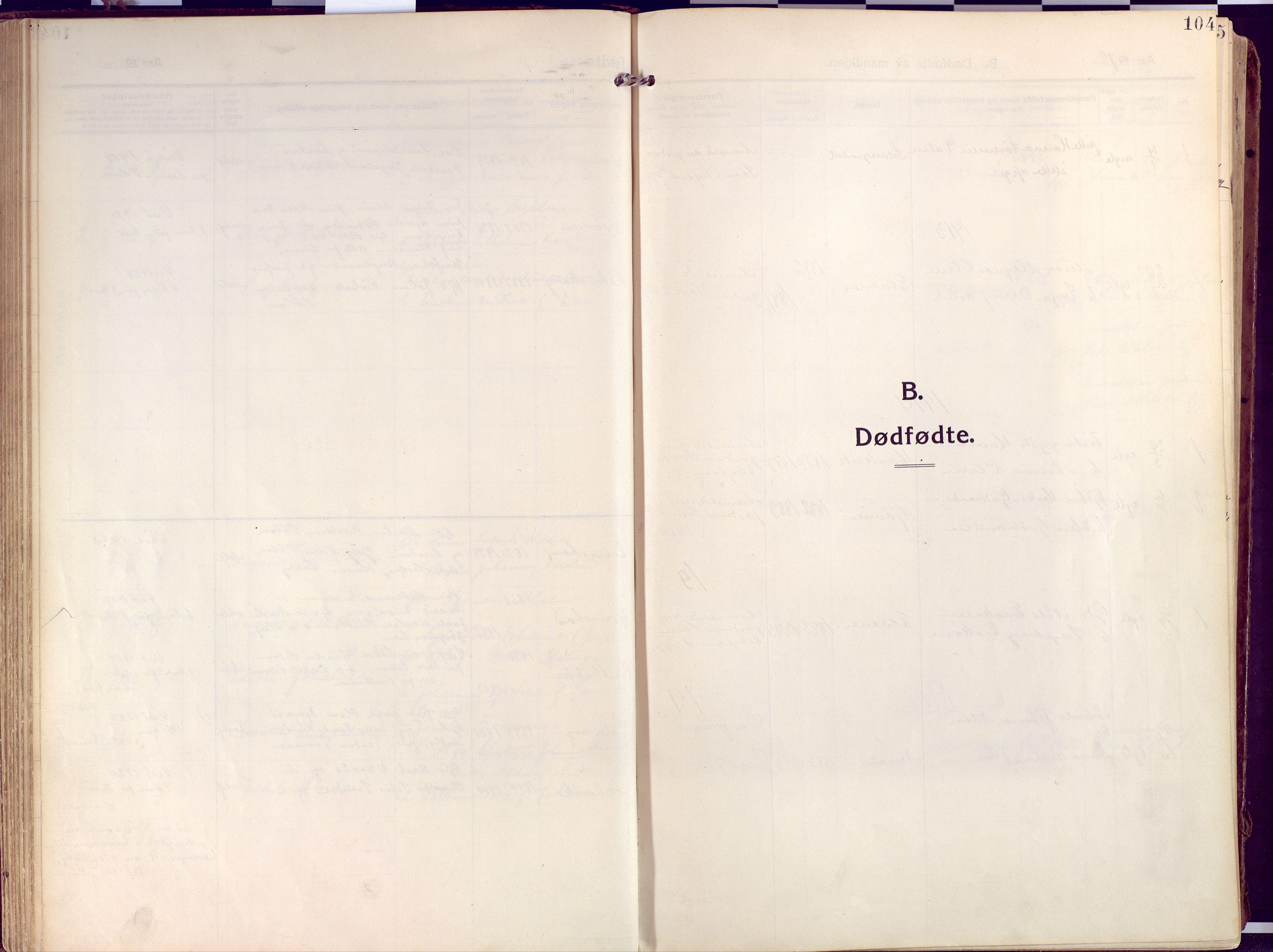 SATØ, Salangen sokneprestembete, Ministerialbok nr. 4, 1912-1927, s. 104