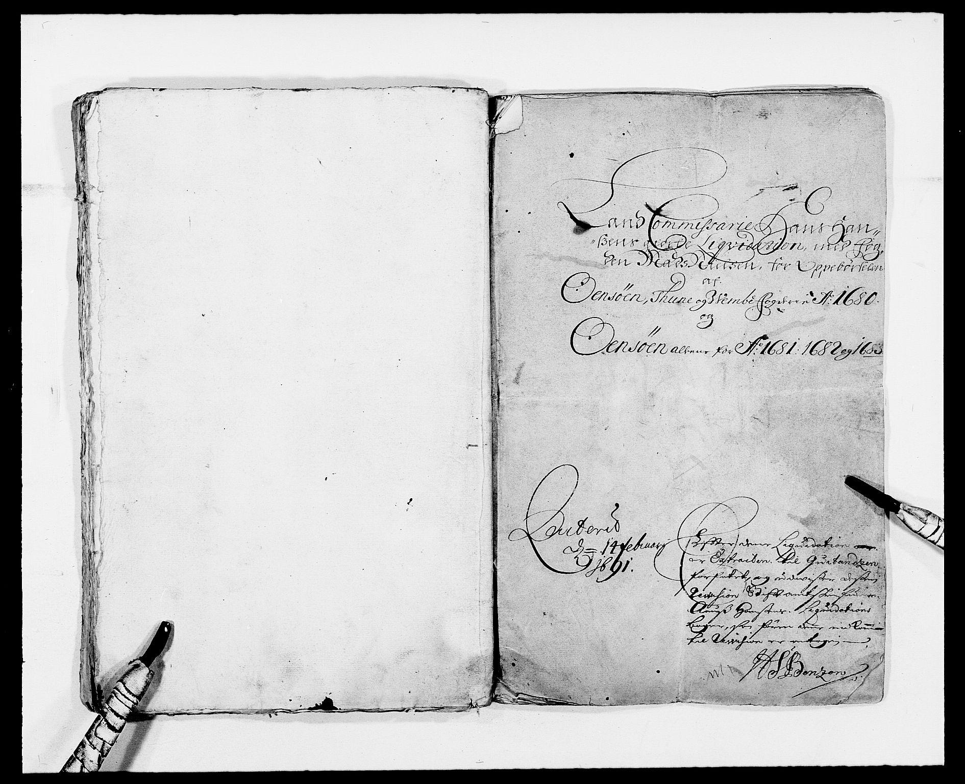 RA, Rentekammeret inntil 1814, Reviderte regnskaper, Fogderegnskap, R03/L0113: Fogderegnskap Onsøy, Tune, Veme og Åbygge fogderi, 1681-1683, s. 24