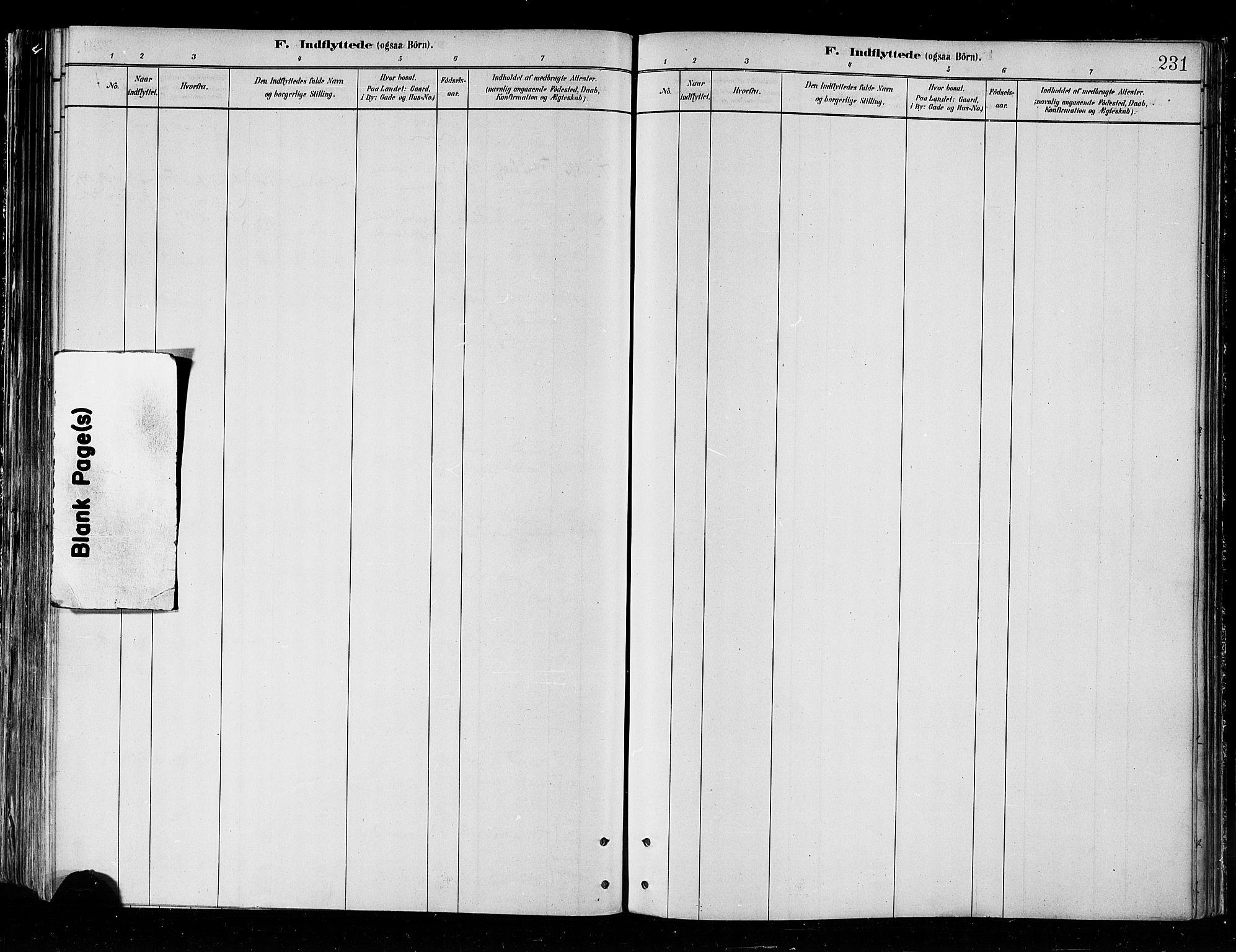 SATØ, Skjervøy sokneprestkontor, H/Ha/Haa/L0010kirke: Ministerialbok nr. 10, 1887-1898, s. 231