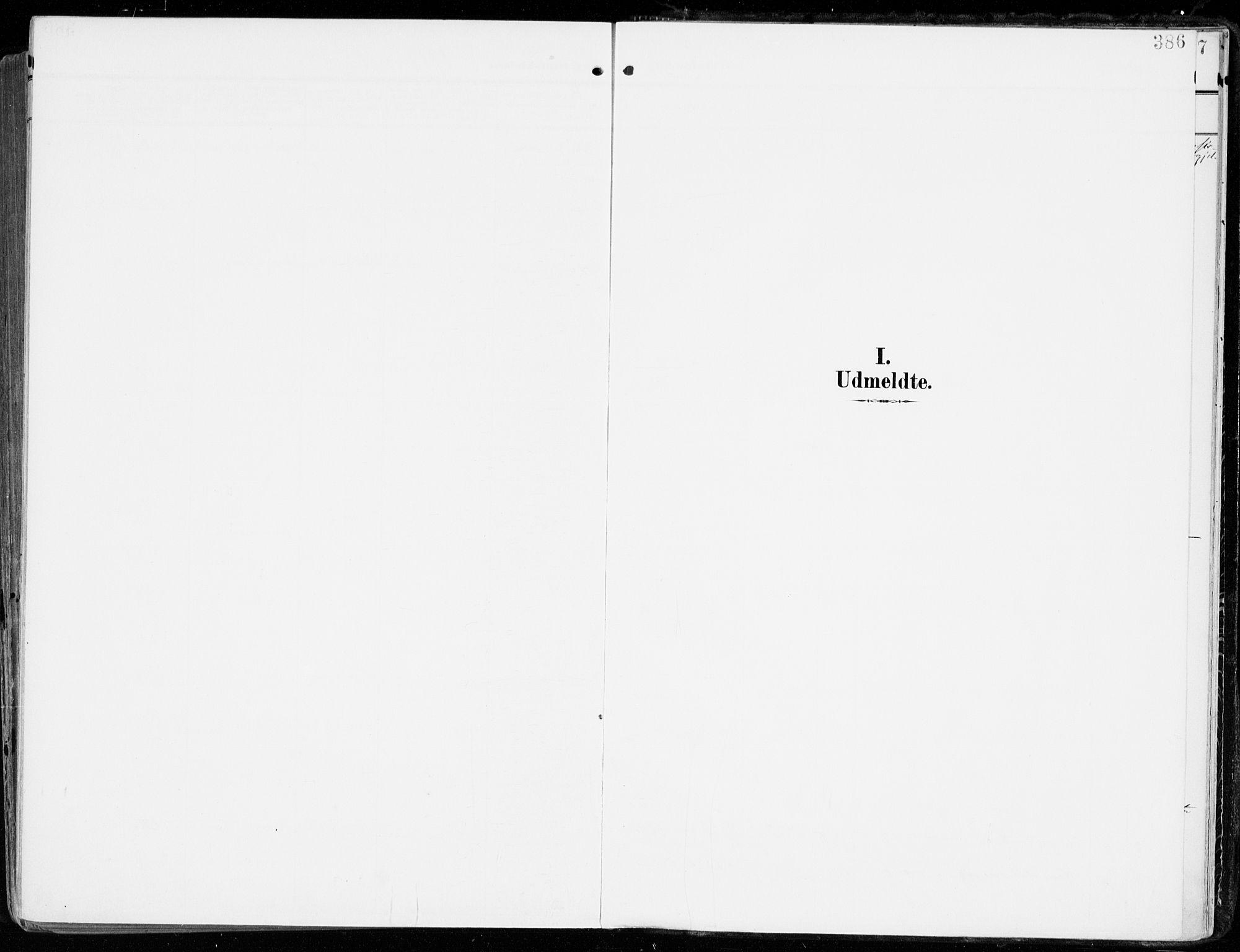 SAKO, Tjølling kirkebøker, F/Fa/L0010: Ministerialbok nr. 10, 1906-1923, s. 386